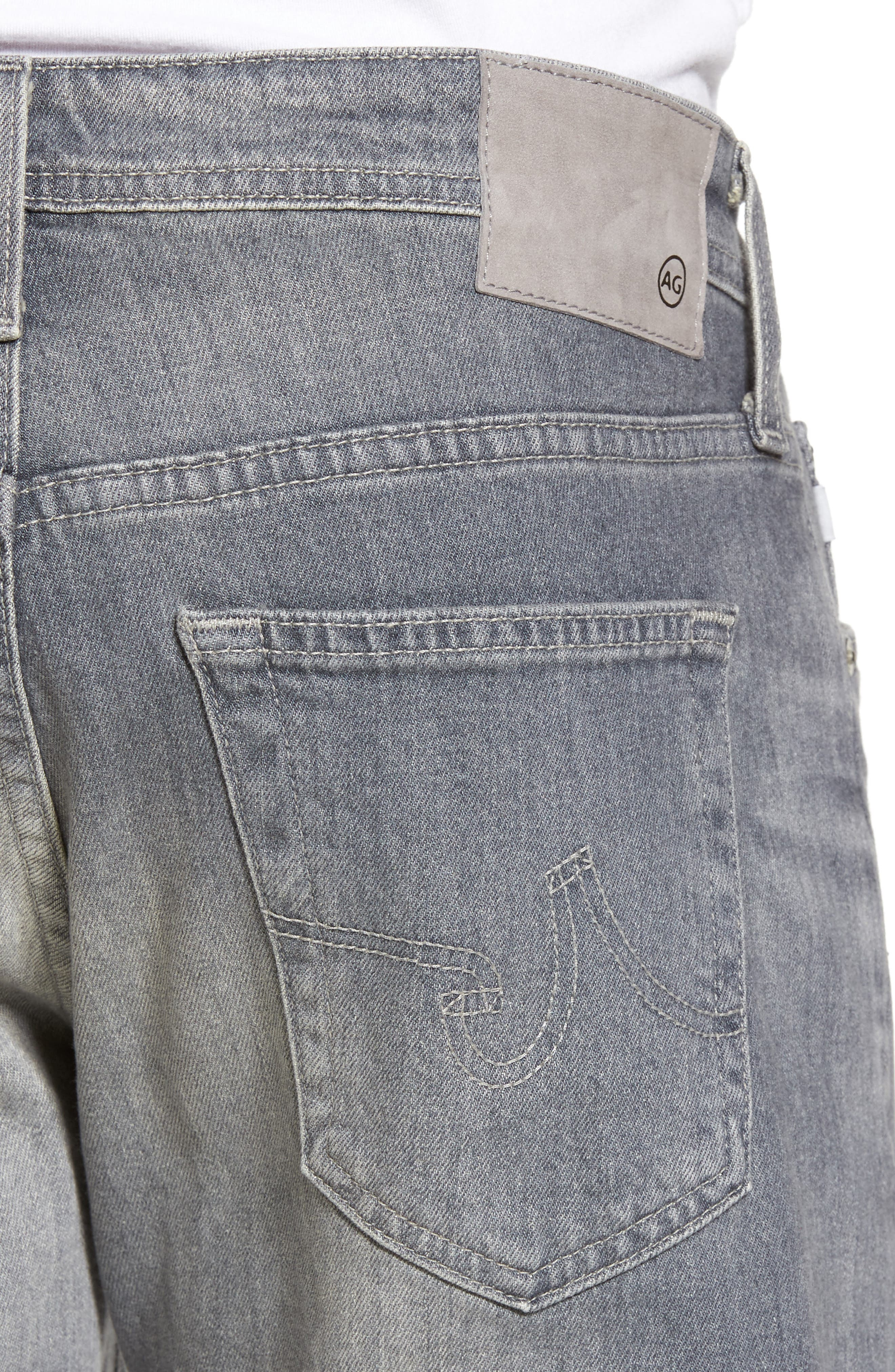 Alternate Image 4  - AG Graduate Slim Straight Fit Jeans (13 Years Fortress)