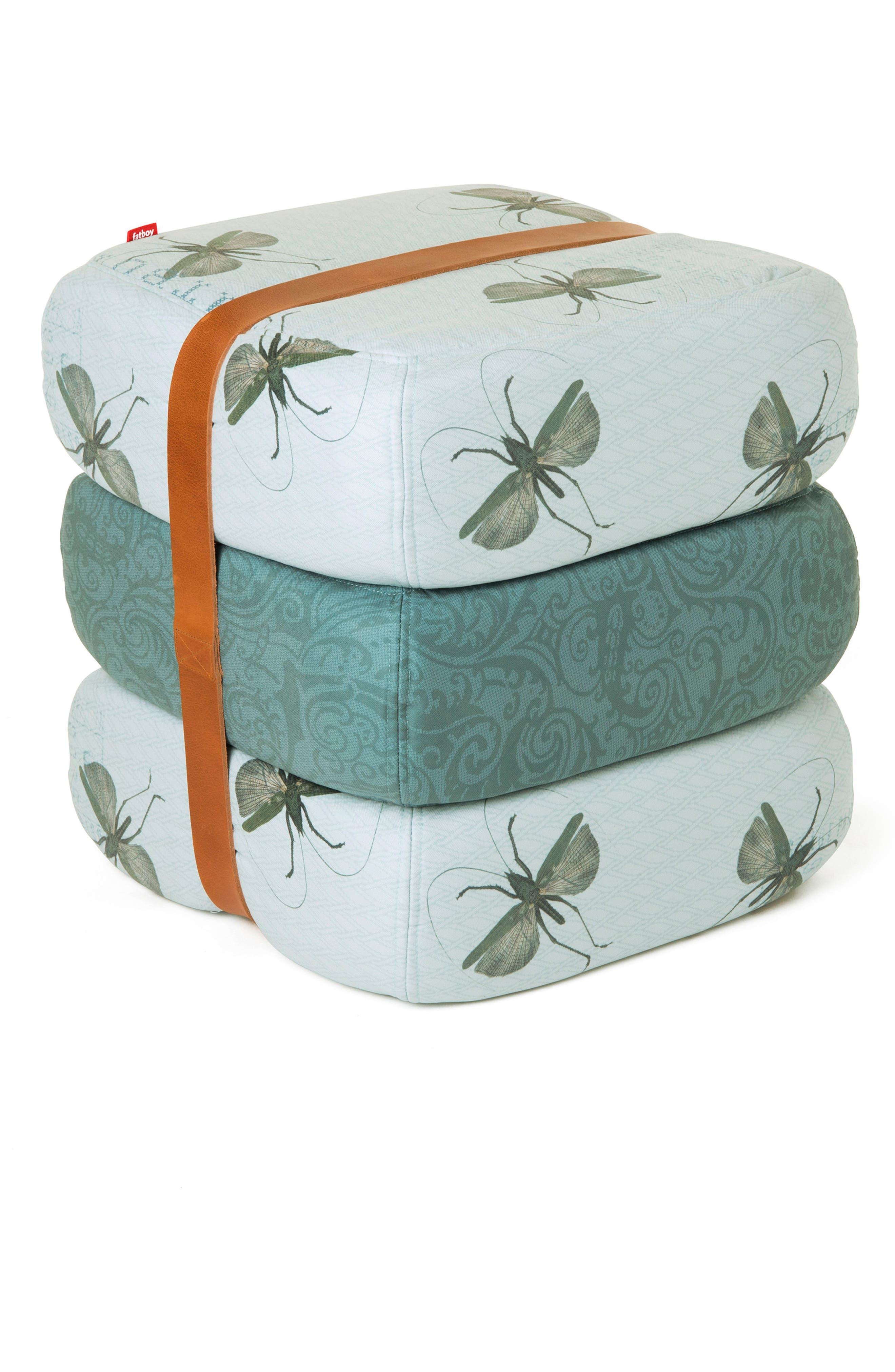 Baboesjka Set of 3 Pillows,                         Main,                         color, Grasshopper