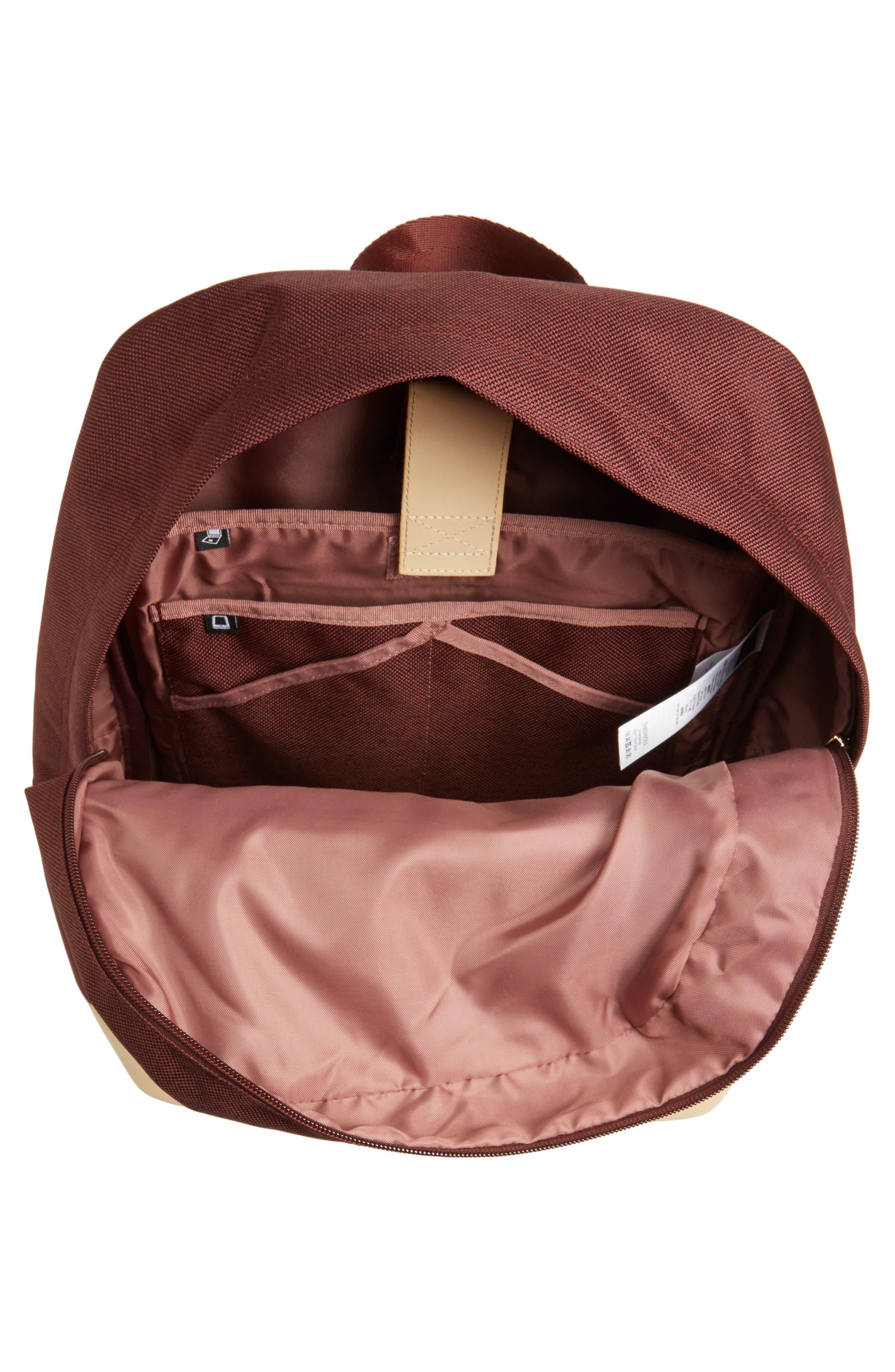 Red Rocks Axiom Backpack,                             Alternate thumbnail 4, color,                             Maroon Tweed
