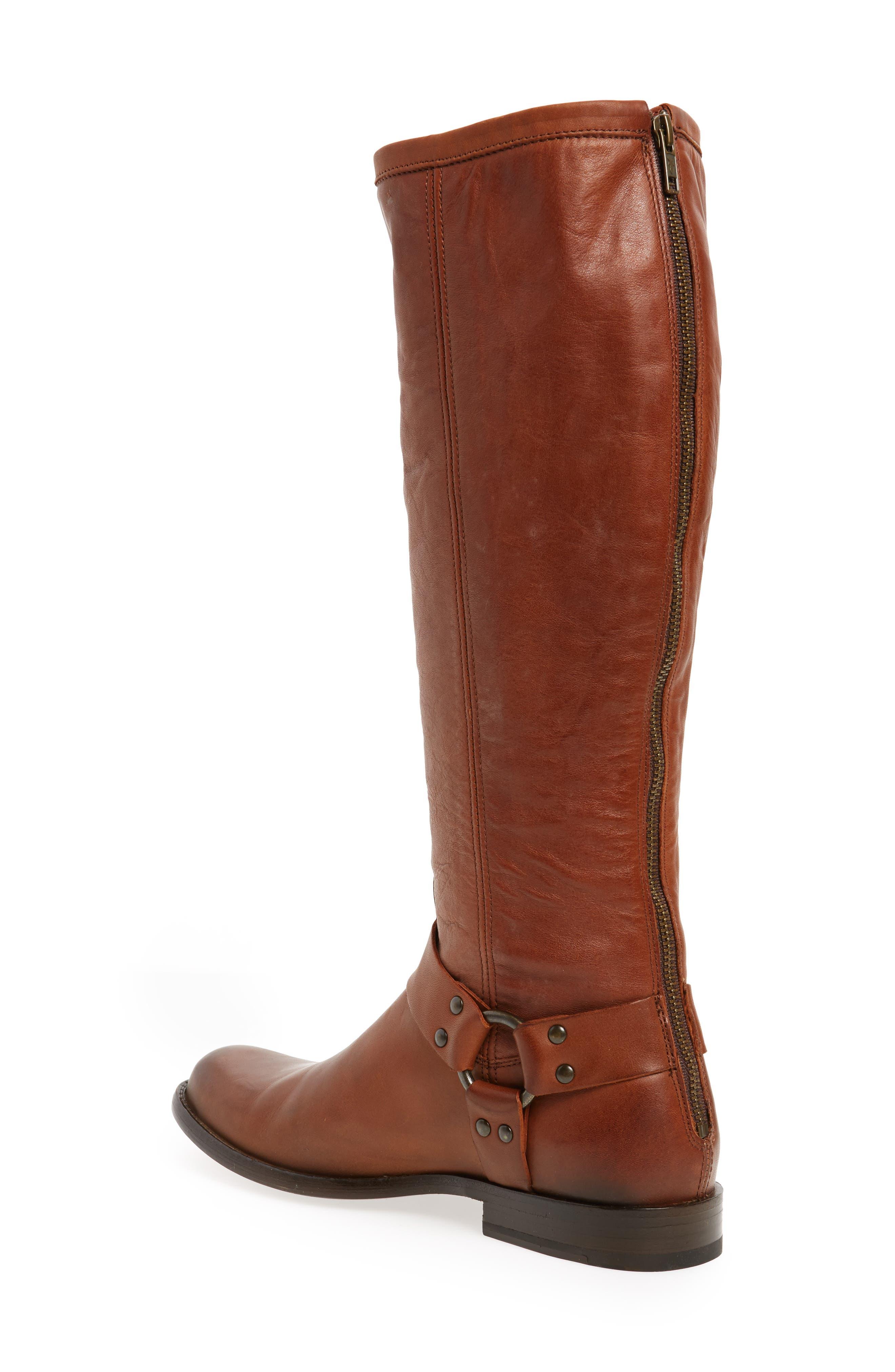 Alternate Image 2  - Frye Phillip Harness Tall Boot (Women) (Regular & Extended Calf)