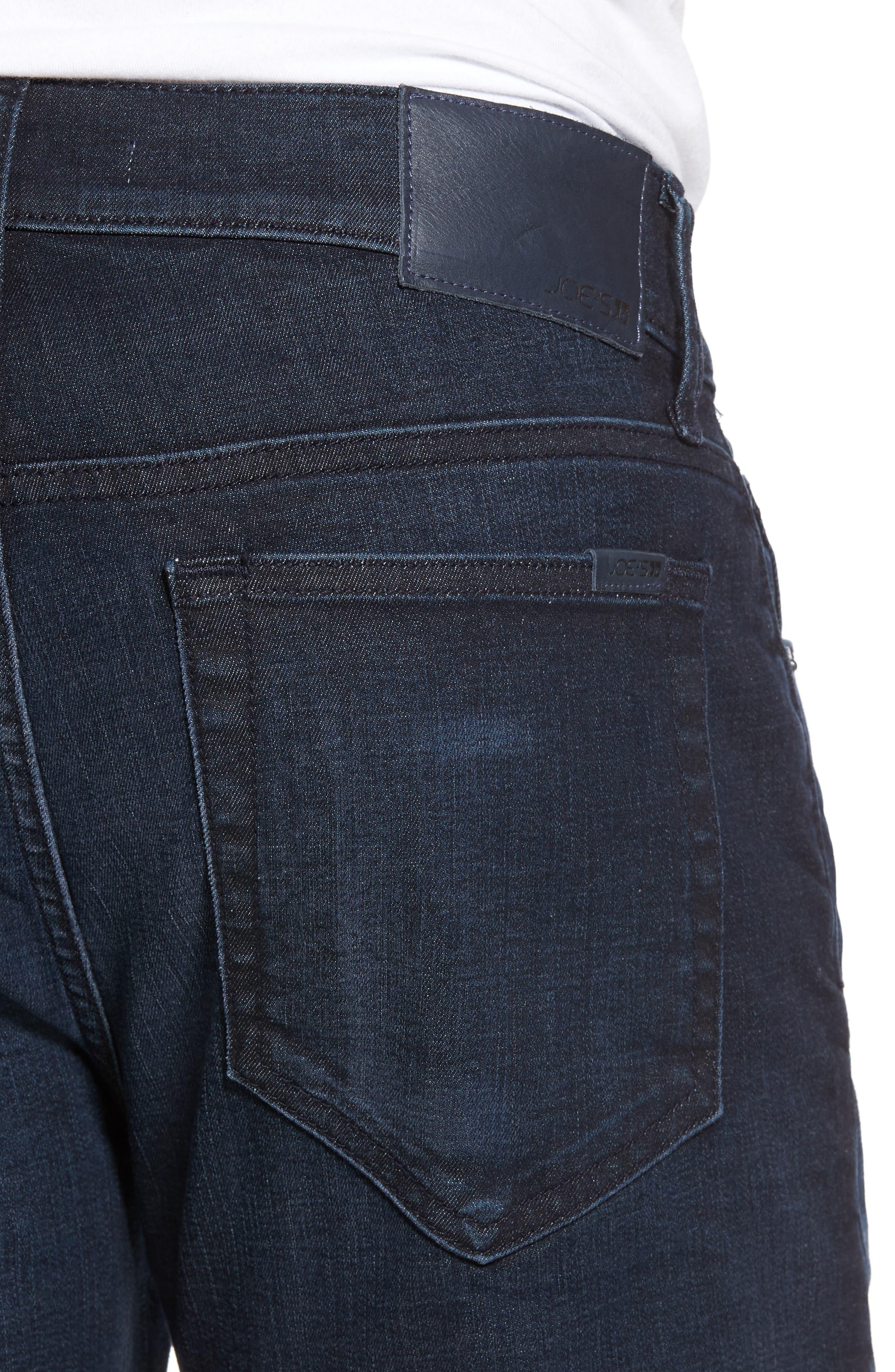 Brixton Slim Straight Leg Jeans,                             Alternate thumbnail 4, color,                             Larsen