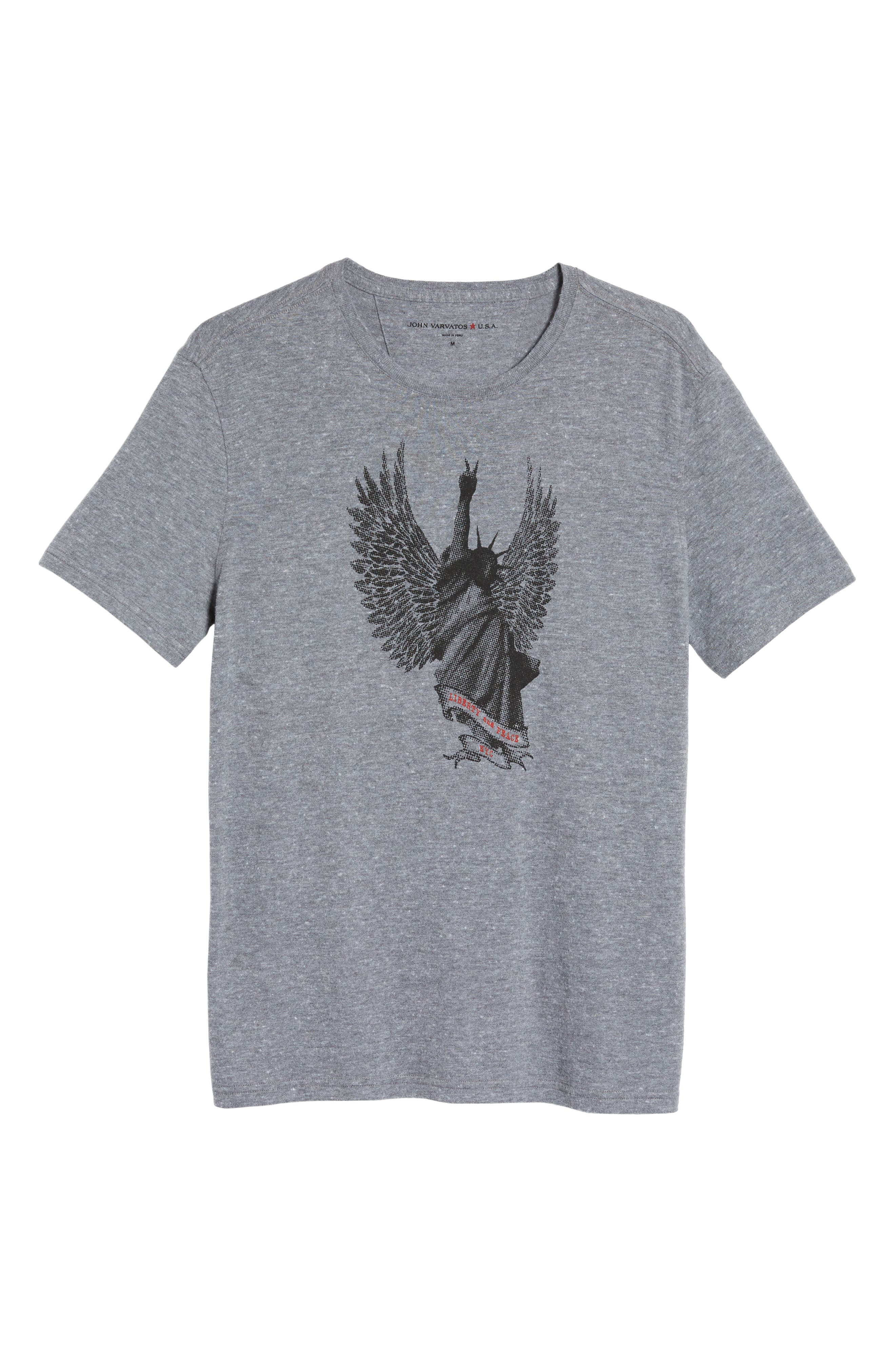 Alternate Image 6  - John Varvatos Star USA Liberty Wings Graphic T-Shirt