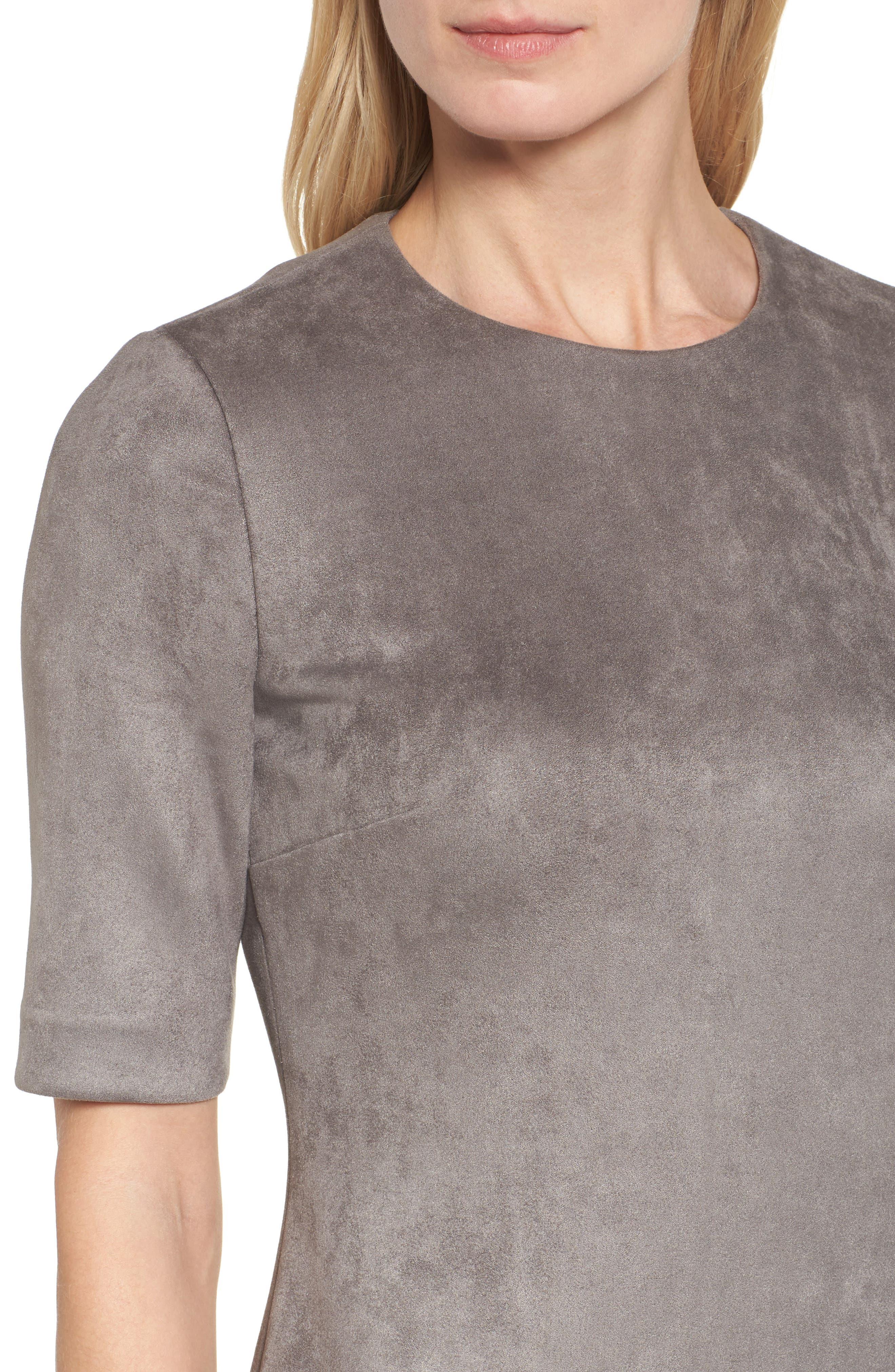 Alternate Image 4  - Anne Klein Scuba Knit Sheath Dress