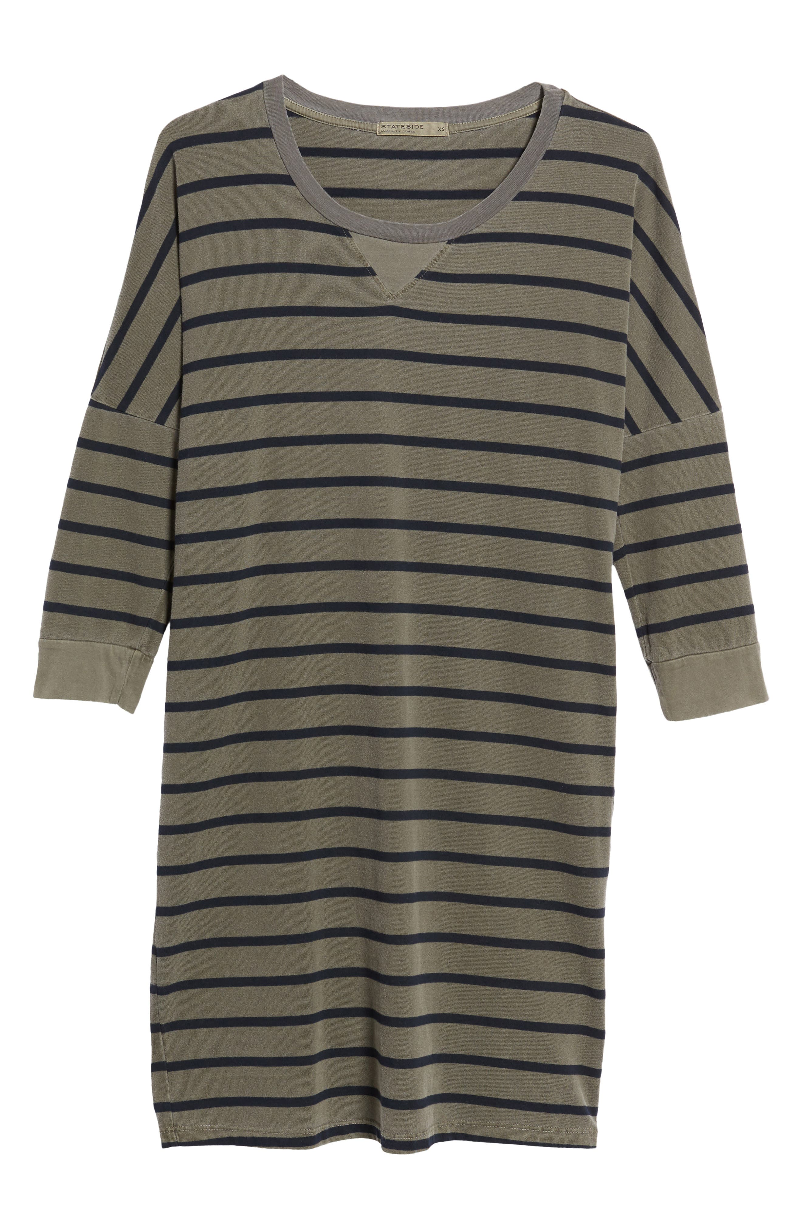 Alternate Image 6  - Stateside Stripe T-Shirt Dress