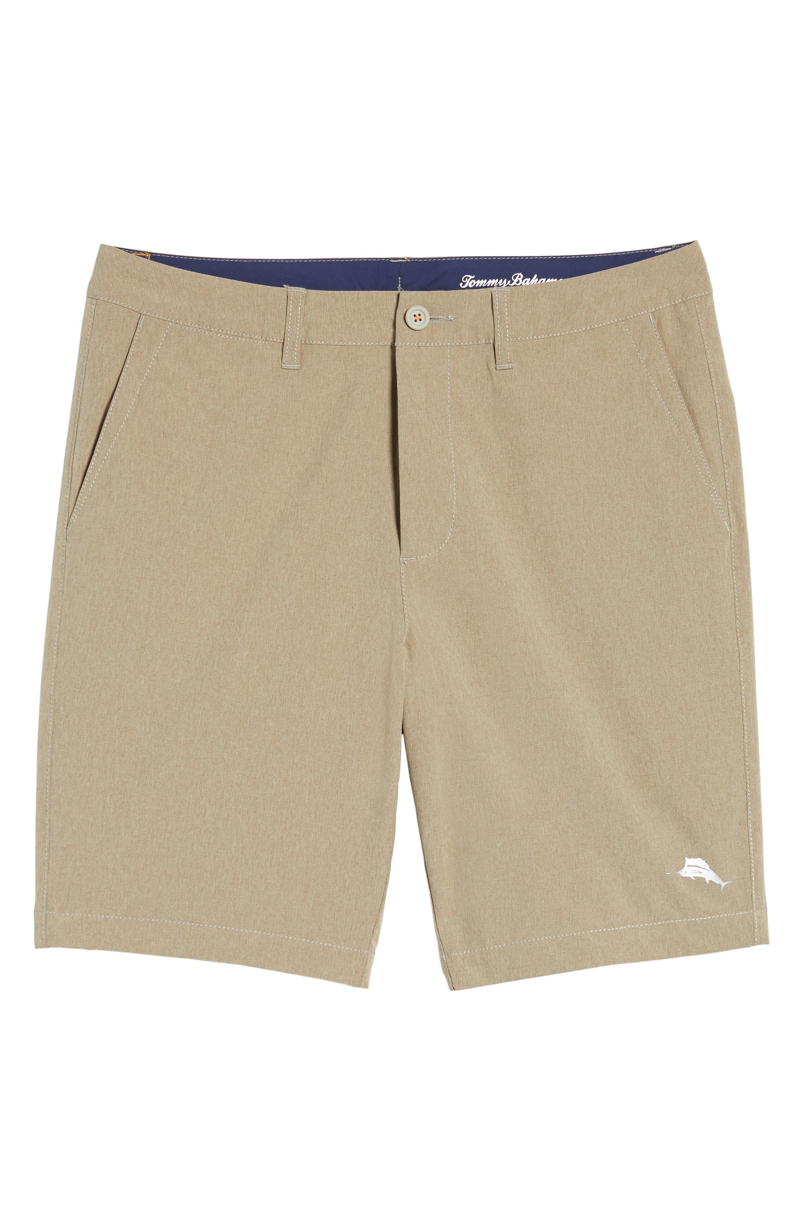 'Cayman Isles' Hybrid Swim Shorts,                             Alternate thumbnail 6, color,                             Dark Twill