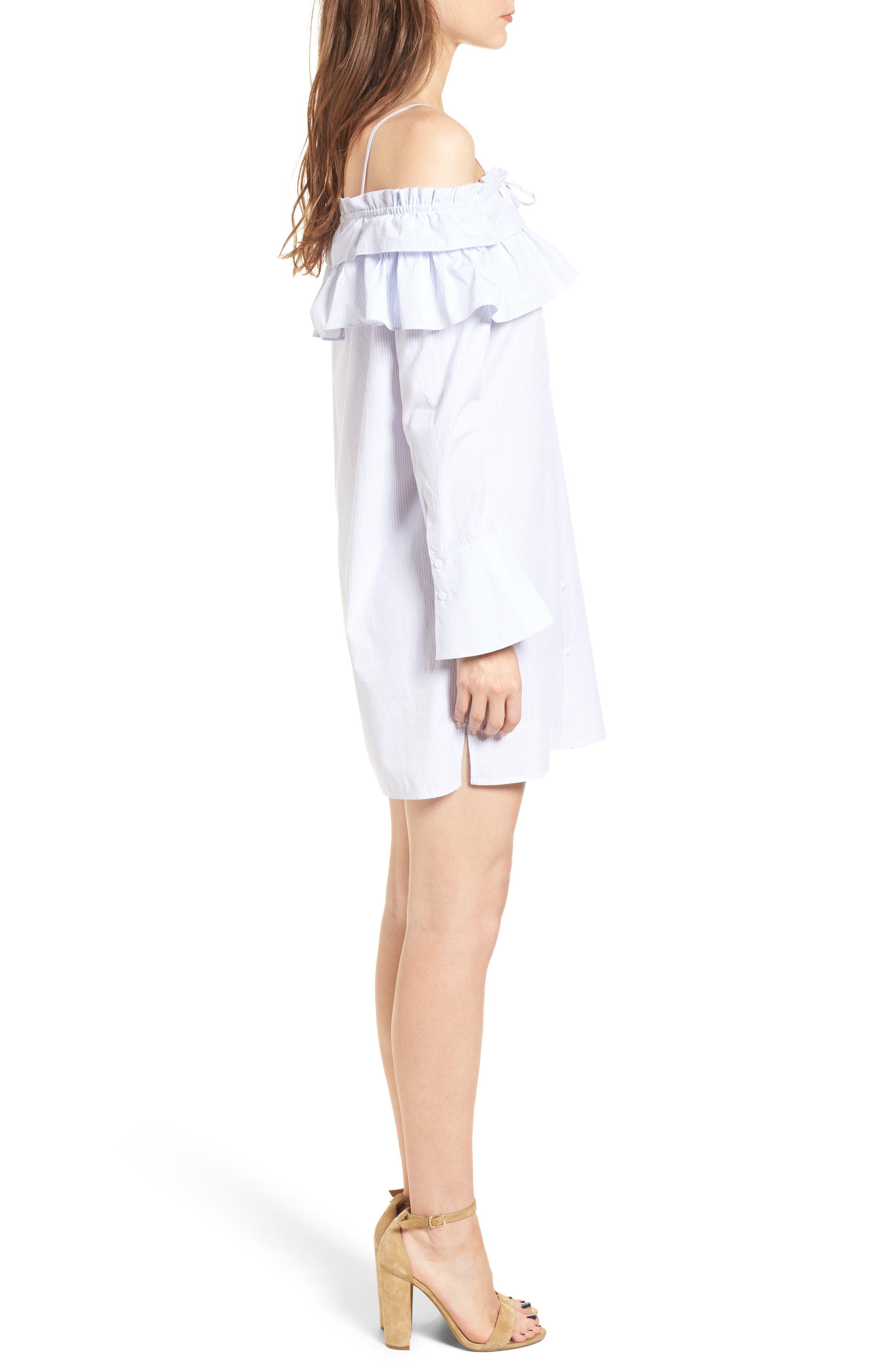 Alternate Image 3  - Rebecca Minkoff Pallas Off the Shoulder Minidress