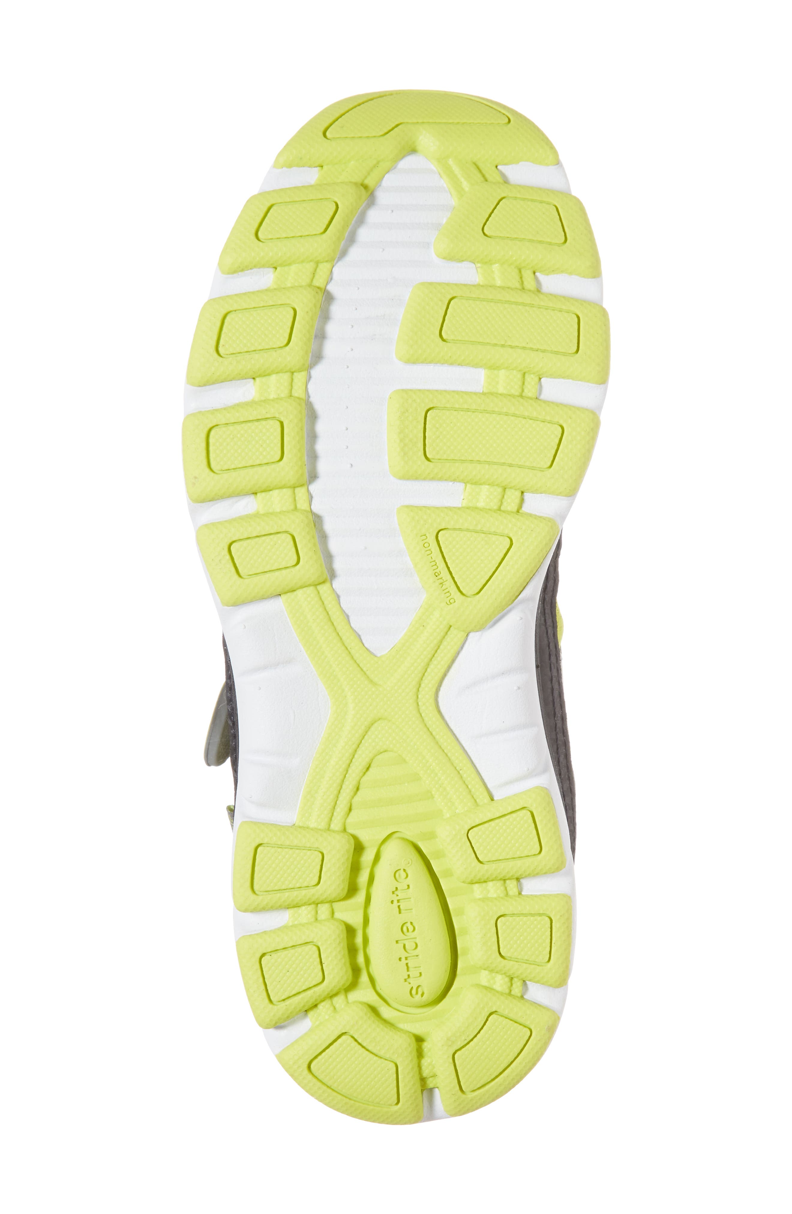 Made 2 Play Breccen Sneaker,                             Alternate thumbnail 6, color,                             Grey/ Lime Leather/ Textile