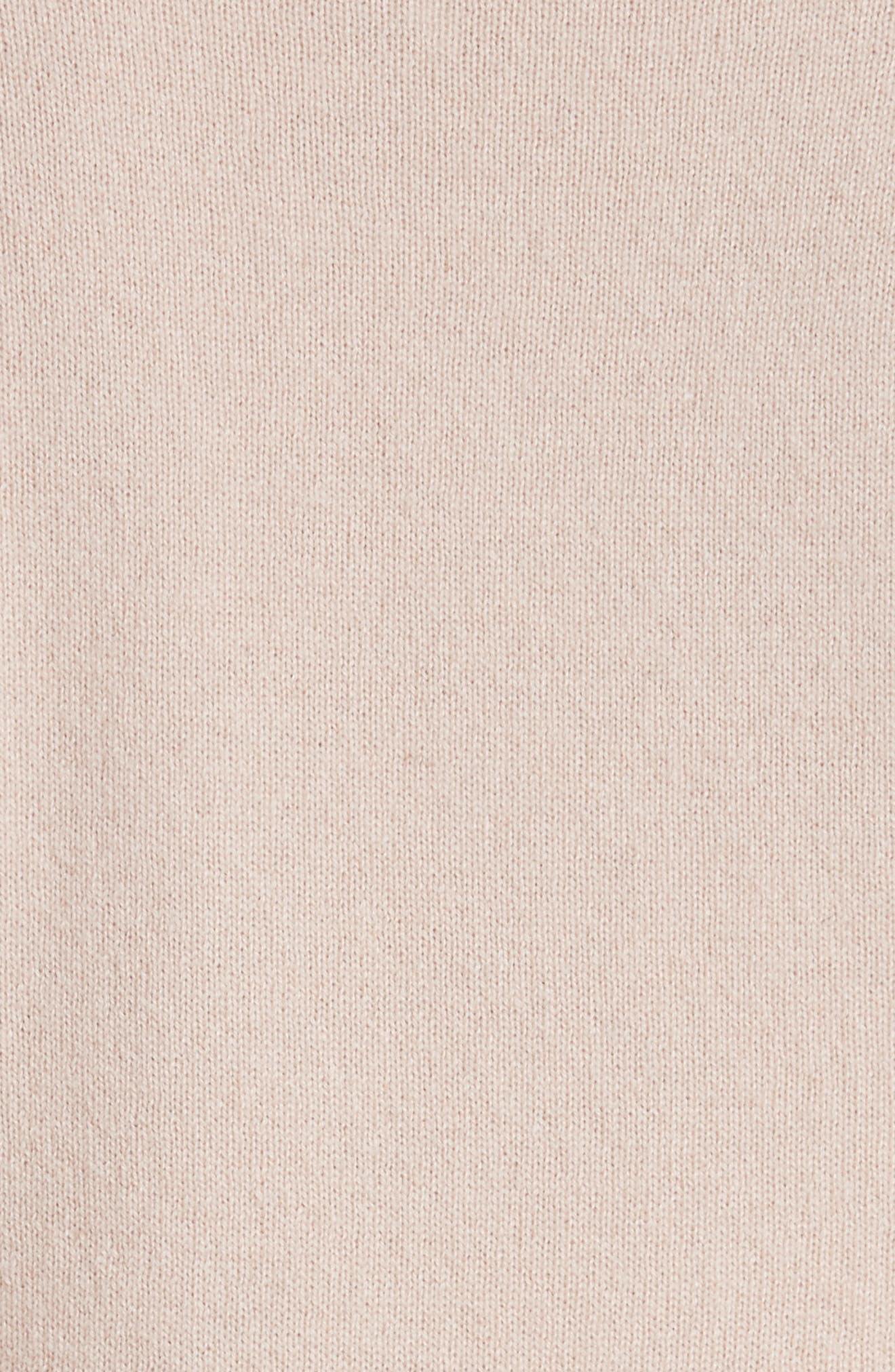 Cashmere Tee,                             Alternate thumbnail 5, color,                             Fawn