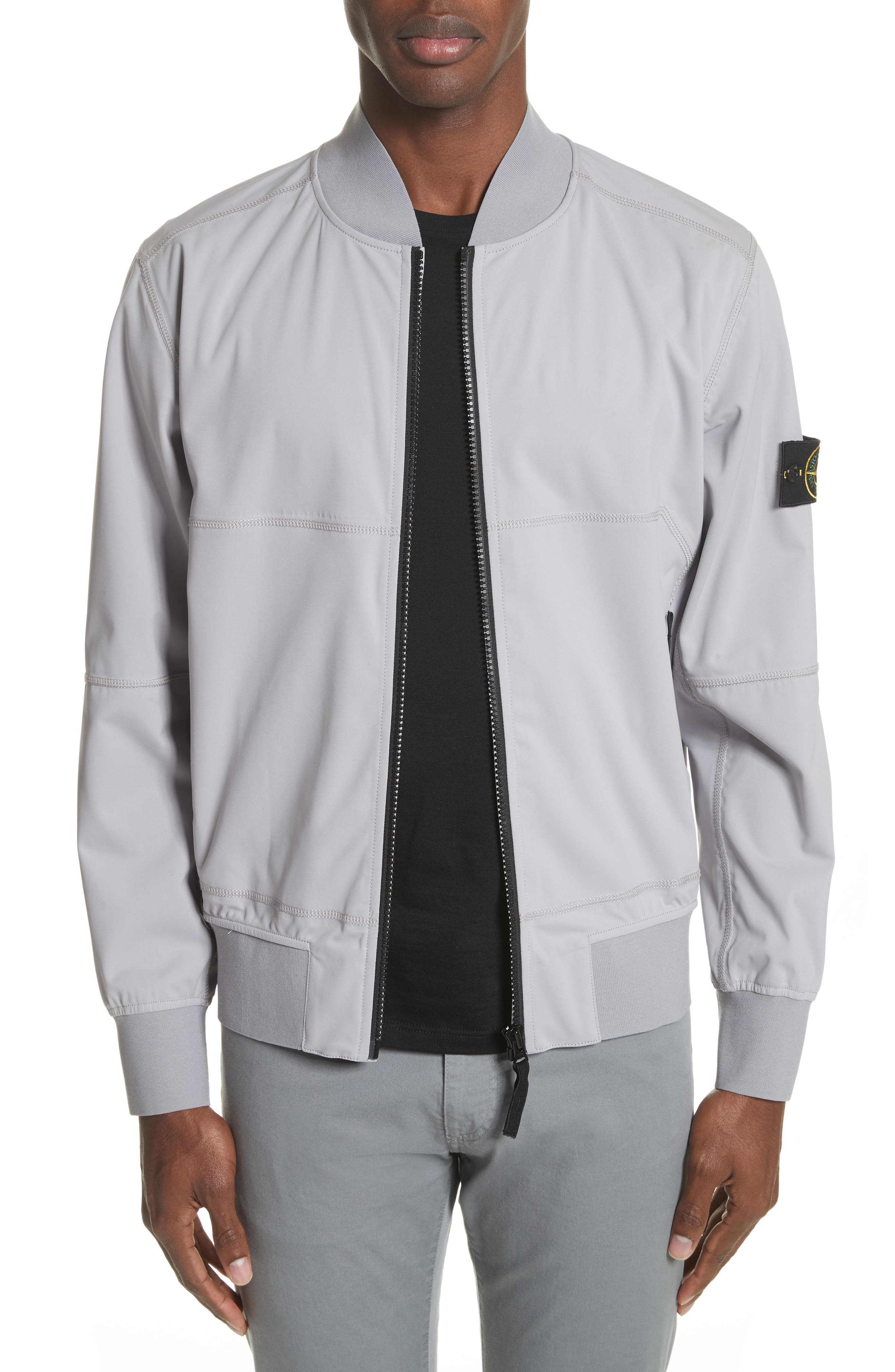 Stone Island Coated Bomber Jacket