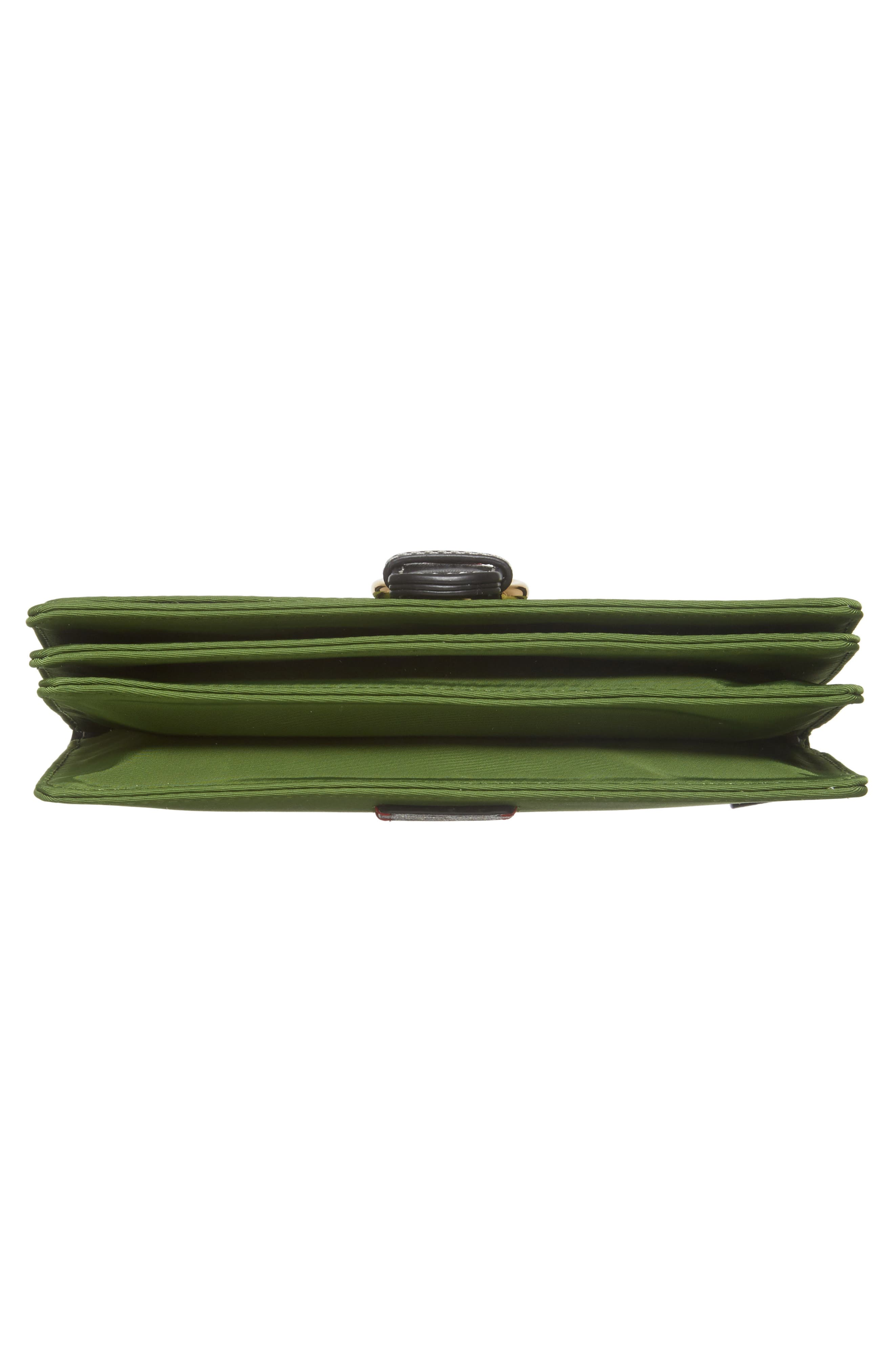 Nylon Crossbody Wallet,                             Alternate thumbnail 6, color,                             Grass