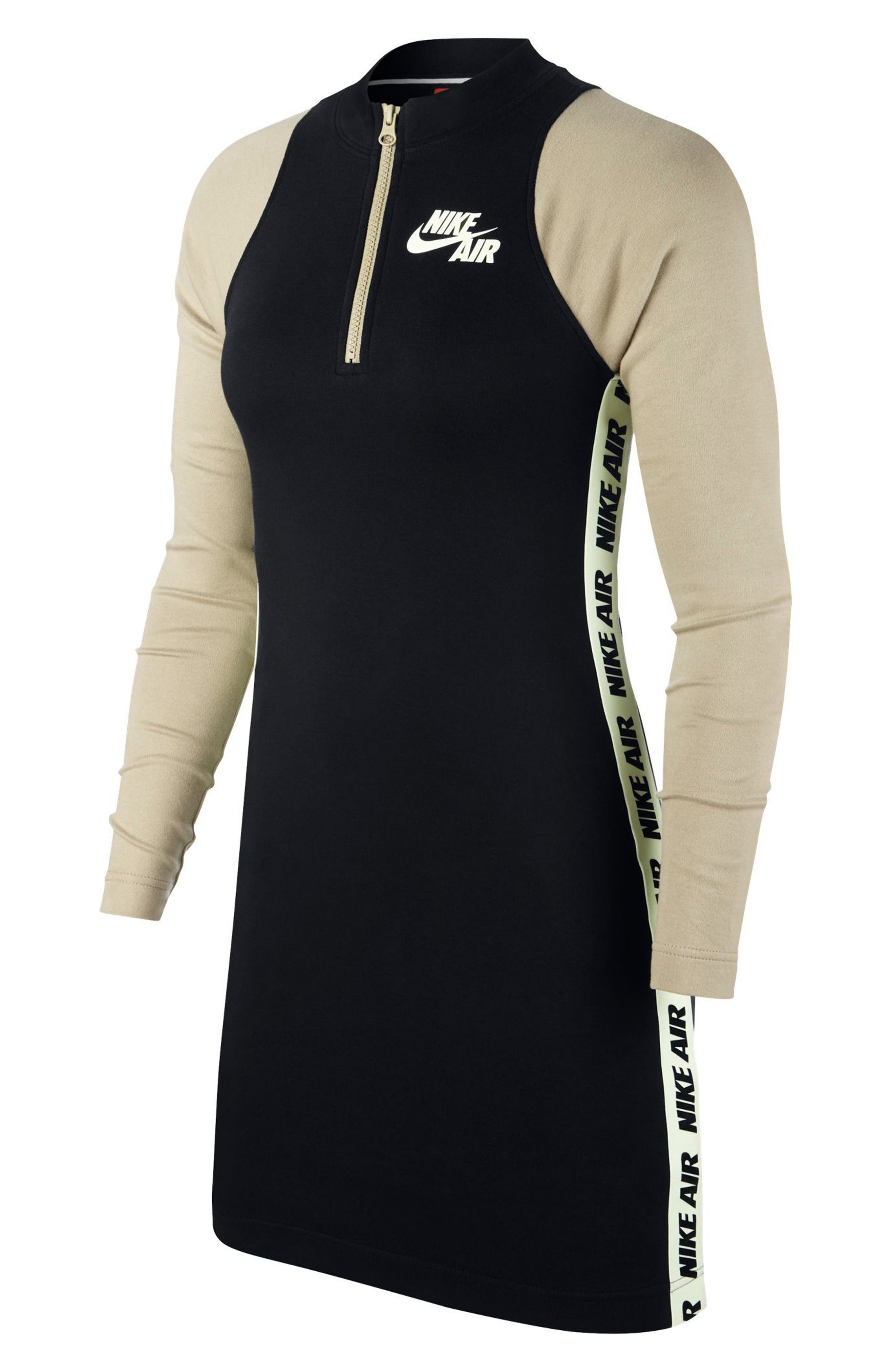 Sportswear Body-Con Jersey Dress,                             Main thumbnail 1, color,                             Black