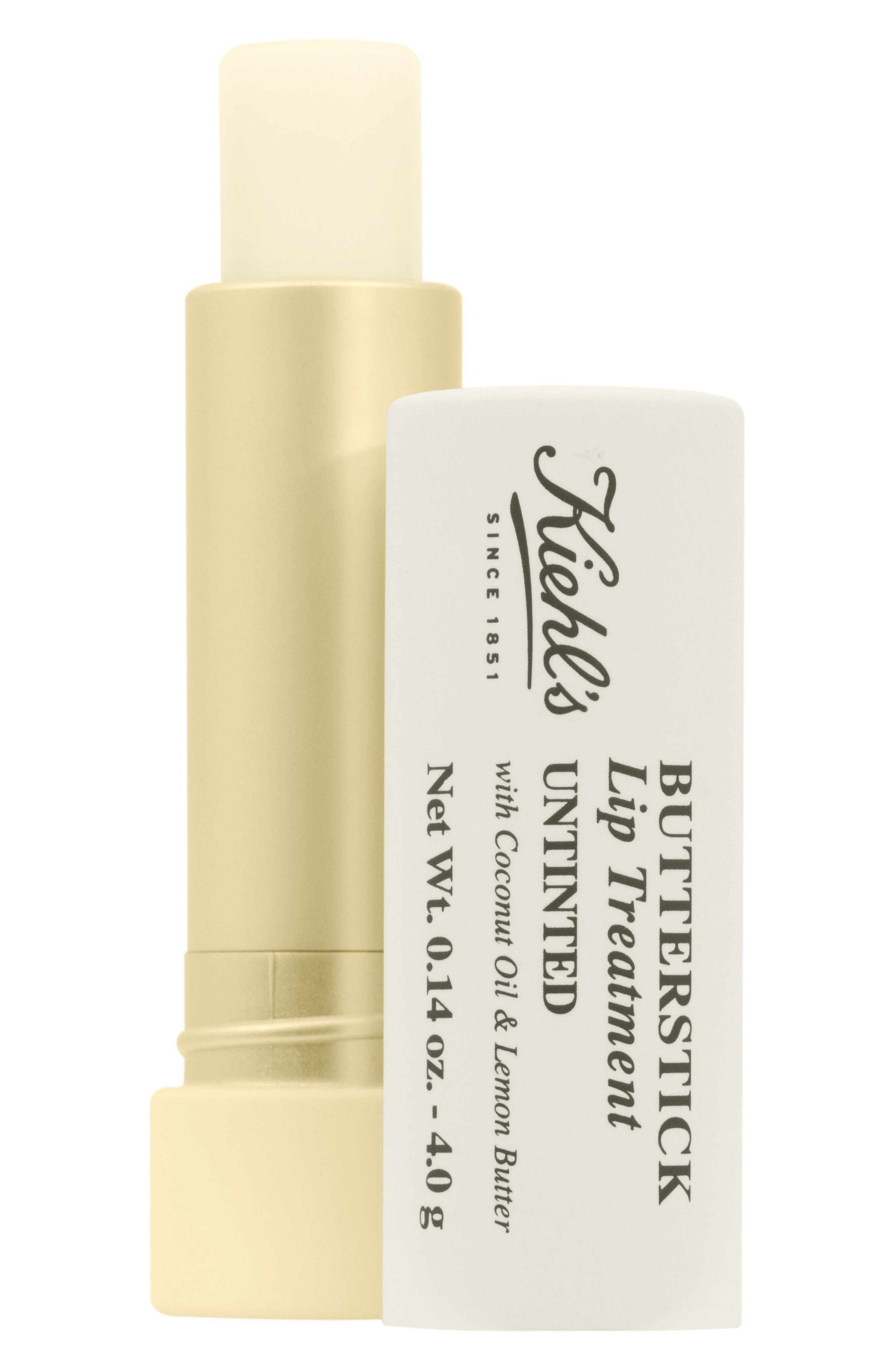 Butterstick Lip Treatment,                             Main thumbnail 1, color,                             No Color