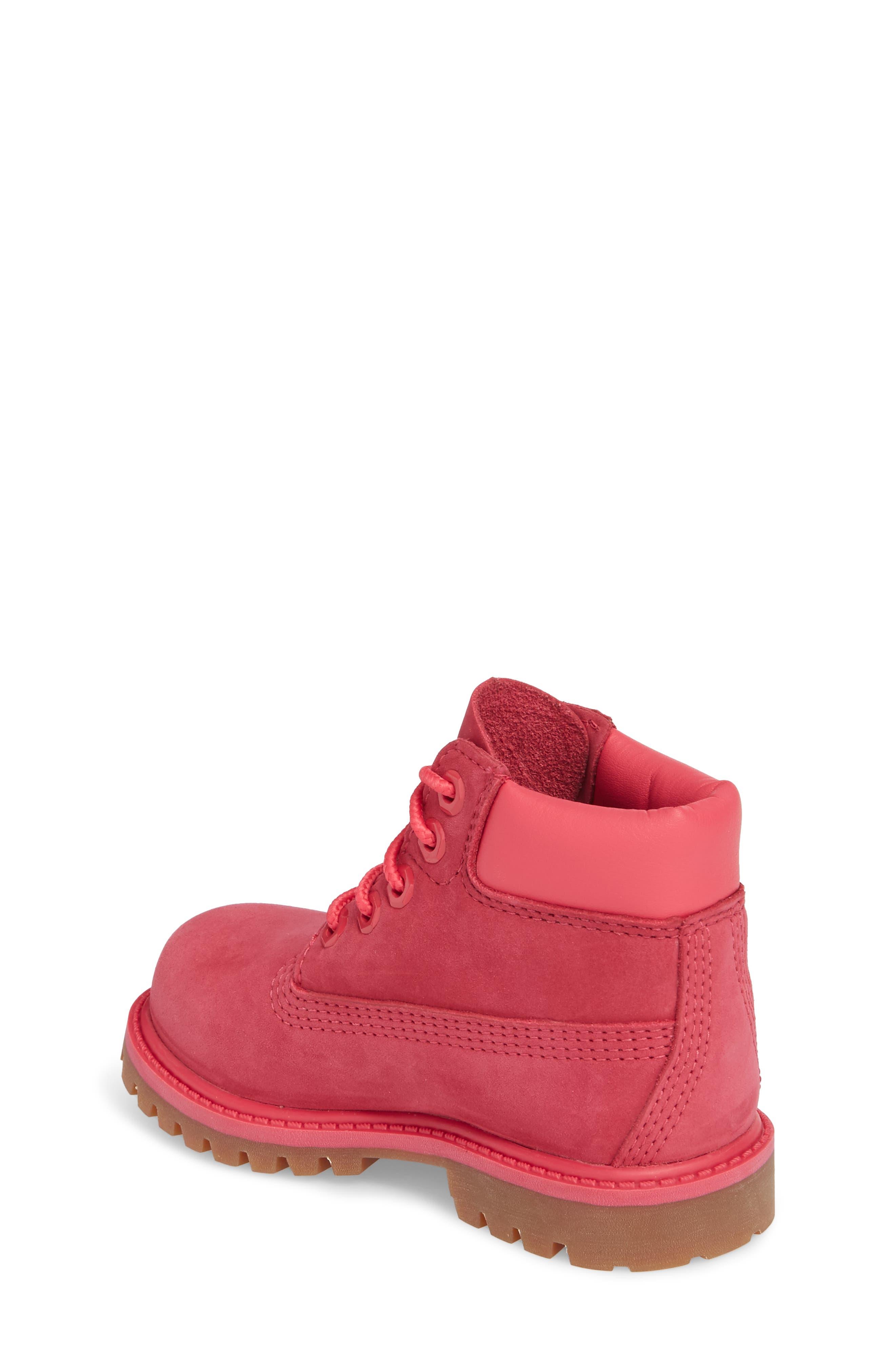 Alternate Image 2  - Timberland 6-Inch Premium Waterproof Boot (Walker, Toddler, Little Kid & Big Kid)