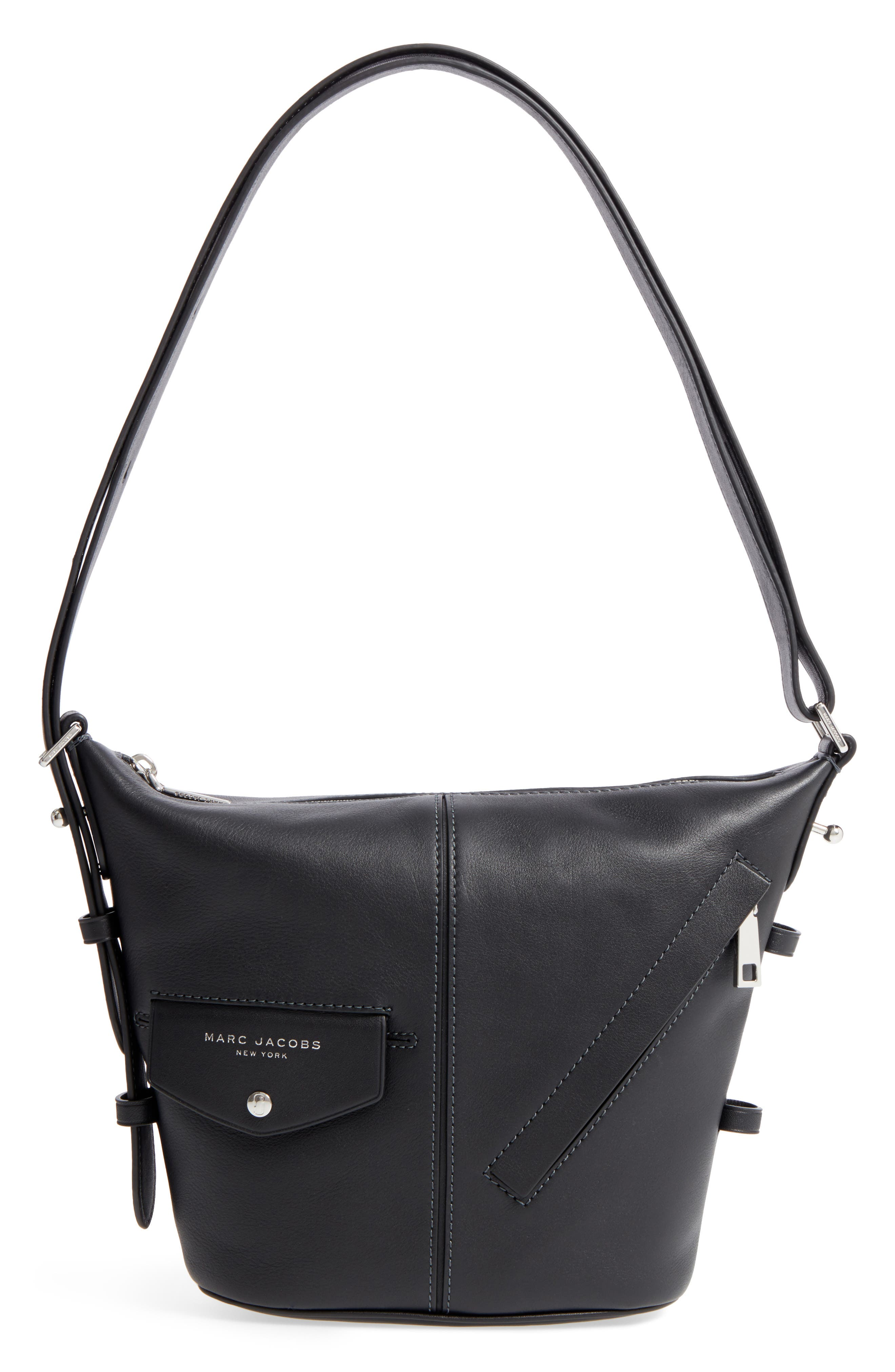 Main Image - MARC JACOBS The Mini Sling Convertible Leather Hobo