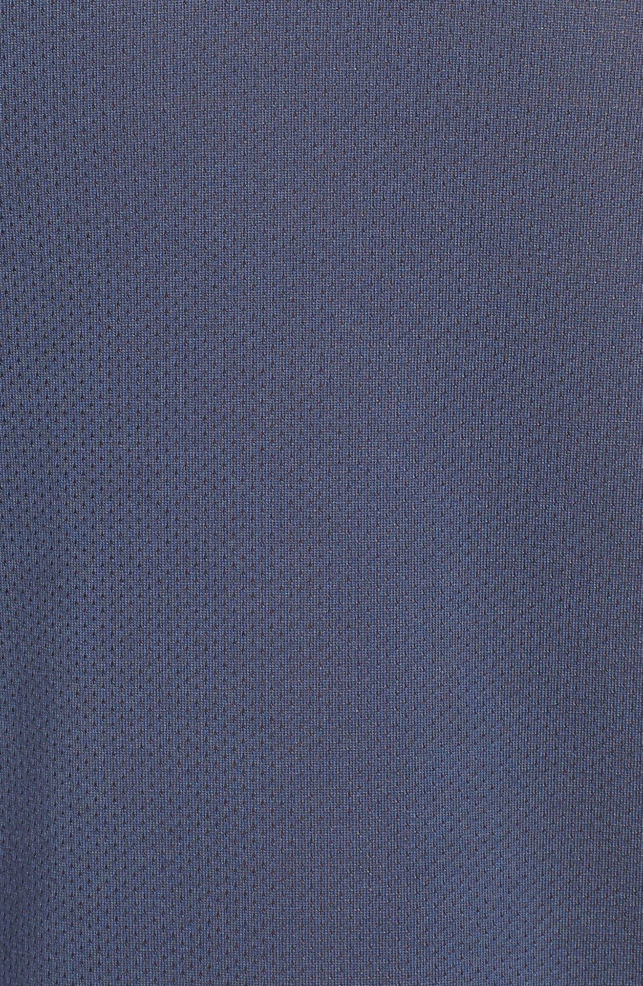 Tailwind Running T-Shirt,                             Alternate thumbnail 5, color,                             Thunder Blue