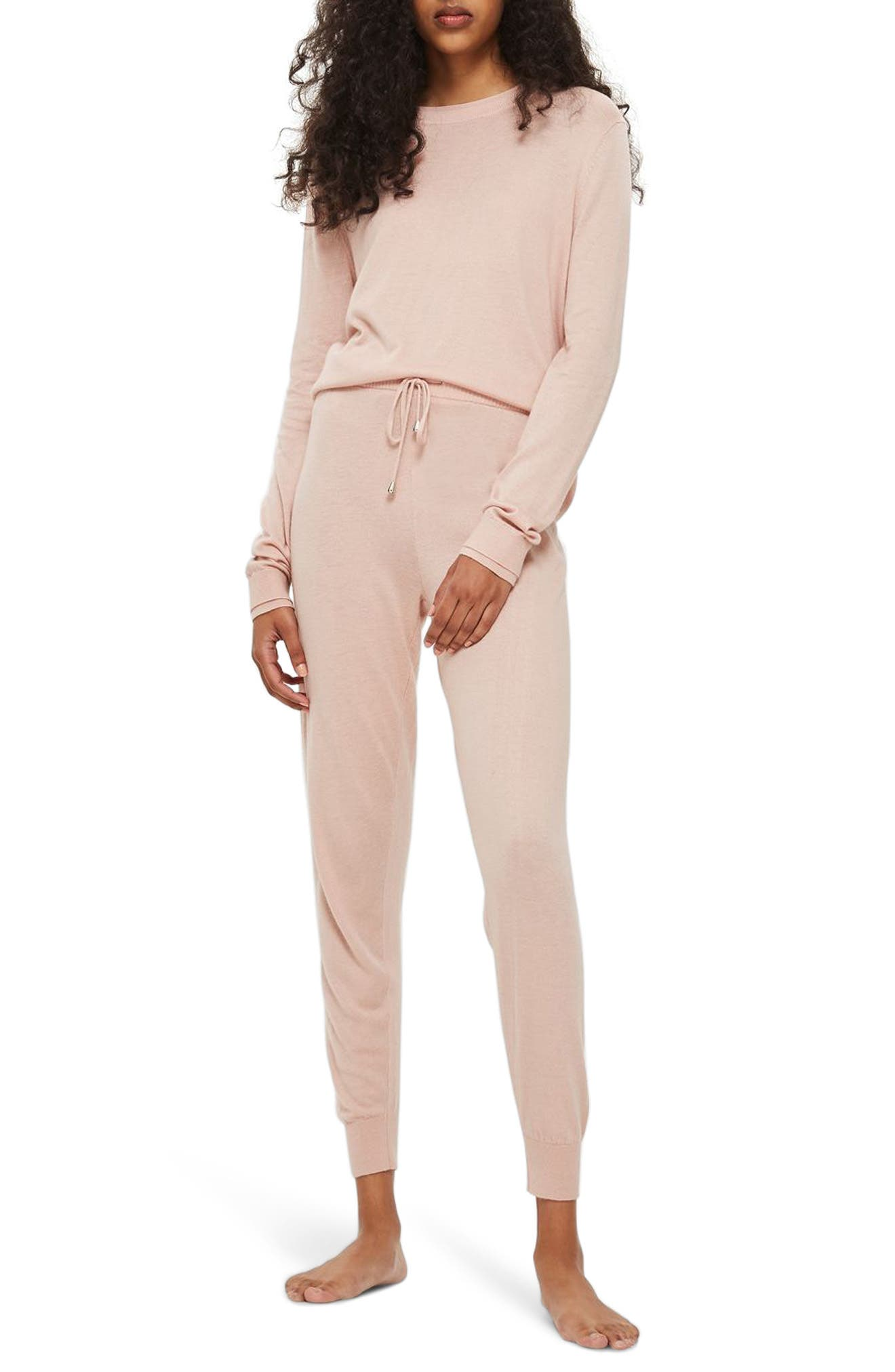 Alternate Image 1 Selected - Topshop Jogger Lounge Pants