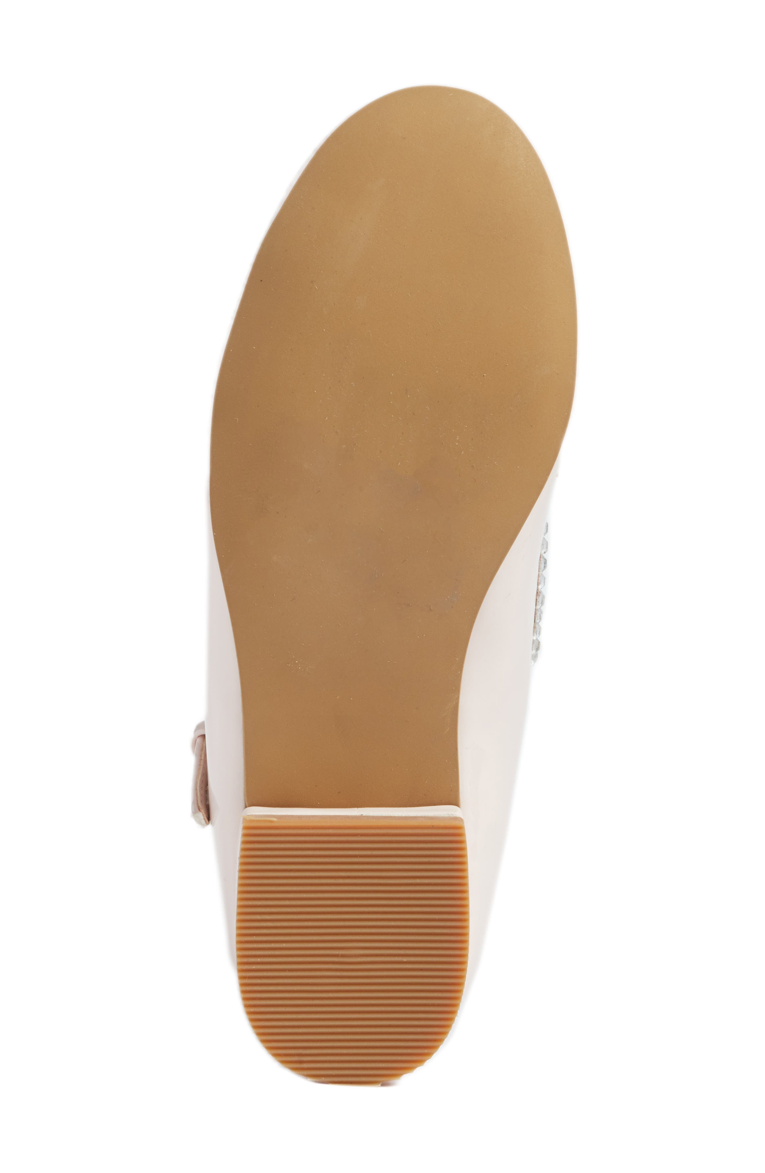 Harlow Embellished Mary Jane,                             Alternate thumbnail 6, color,                             Pale Pink Faux Patent