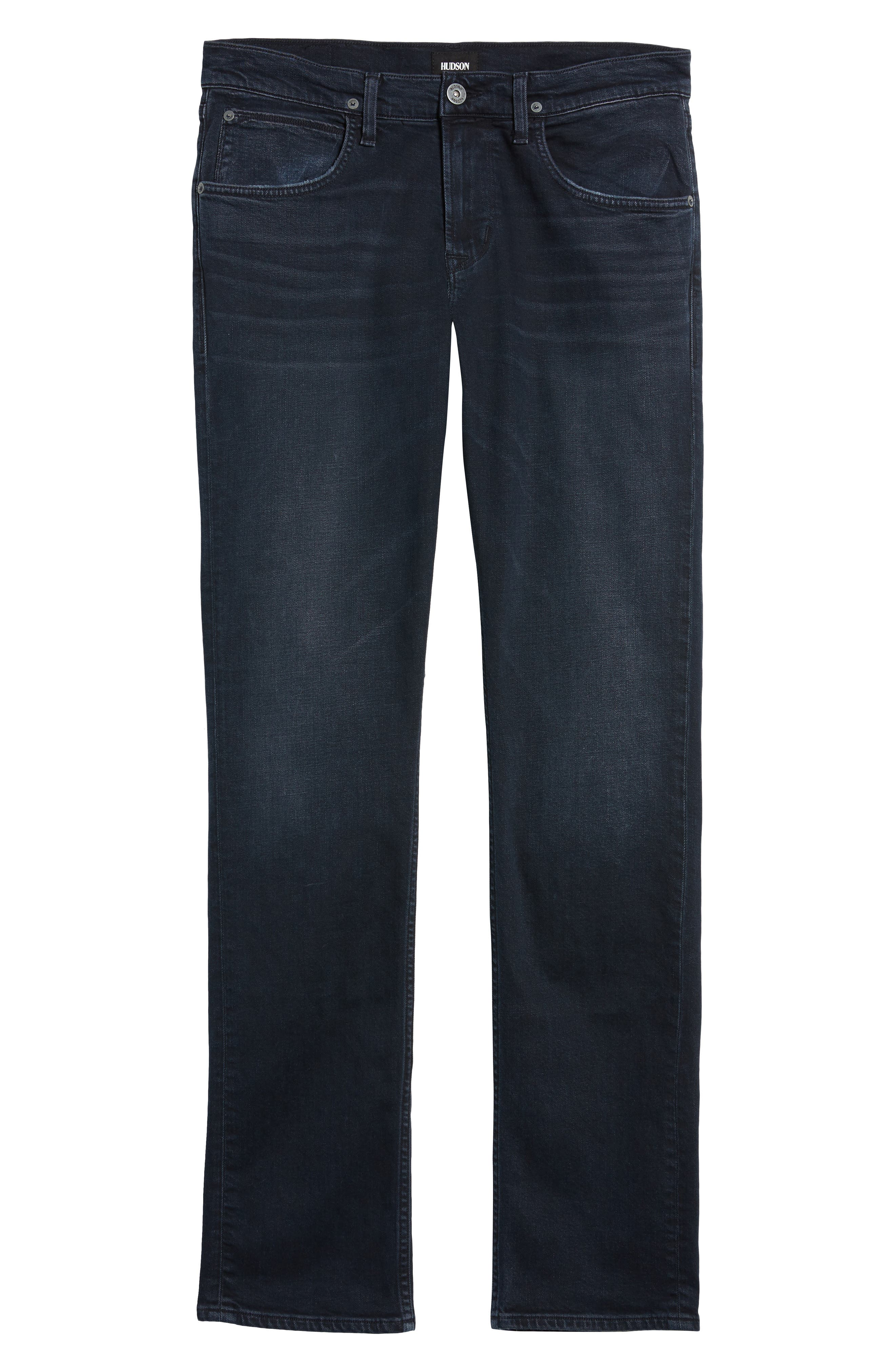 Byron Slim Straight Leg Jeans,                             Alternate thumbnail 6, color,                             Threaten