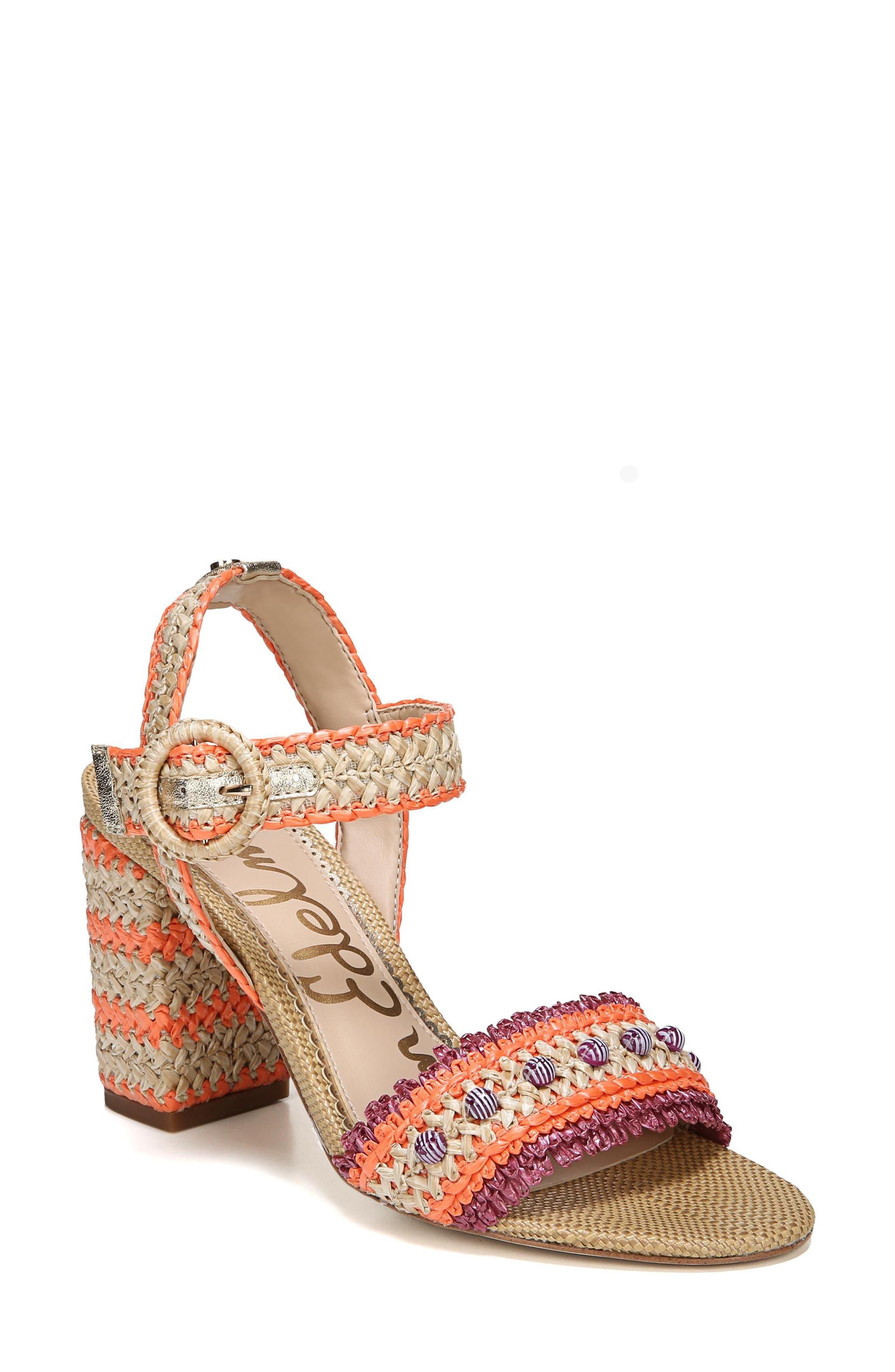 Sam Edelman Olisa Block Heel Sandal (Women)