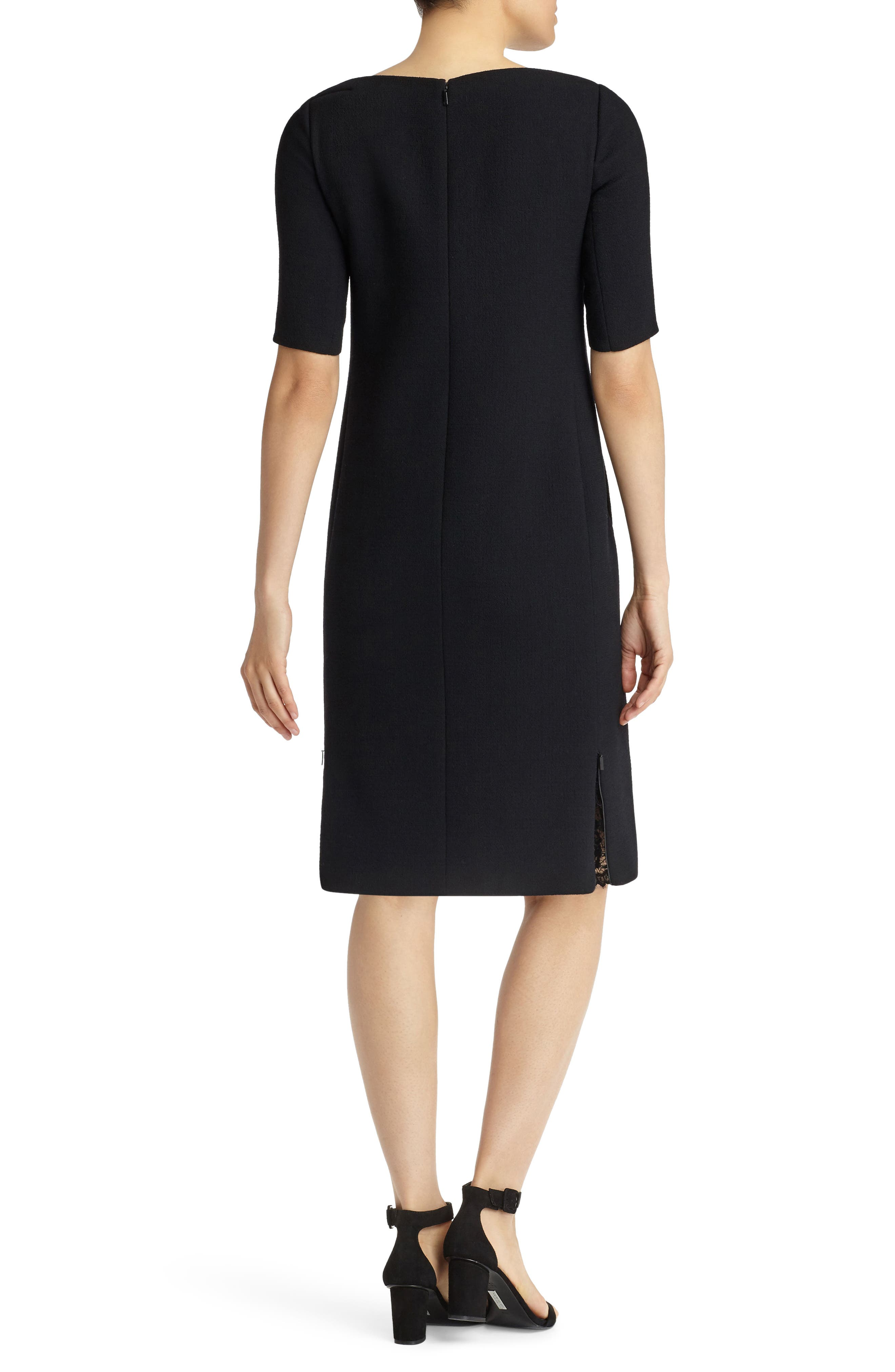 Alternate Image 2  - Lafayette 148 New York Cyra Shift Dress (Nordstrom Exclusive)