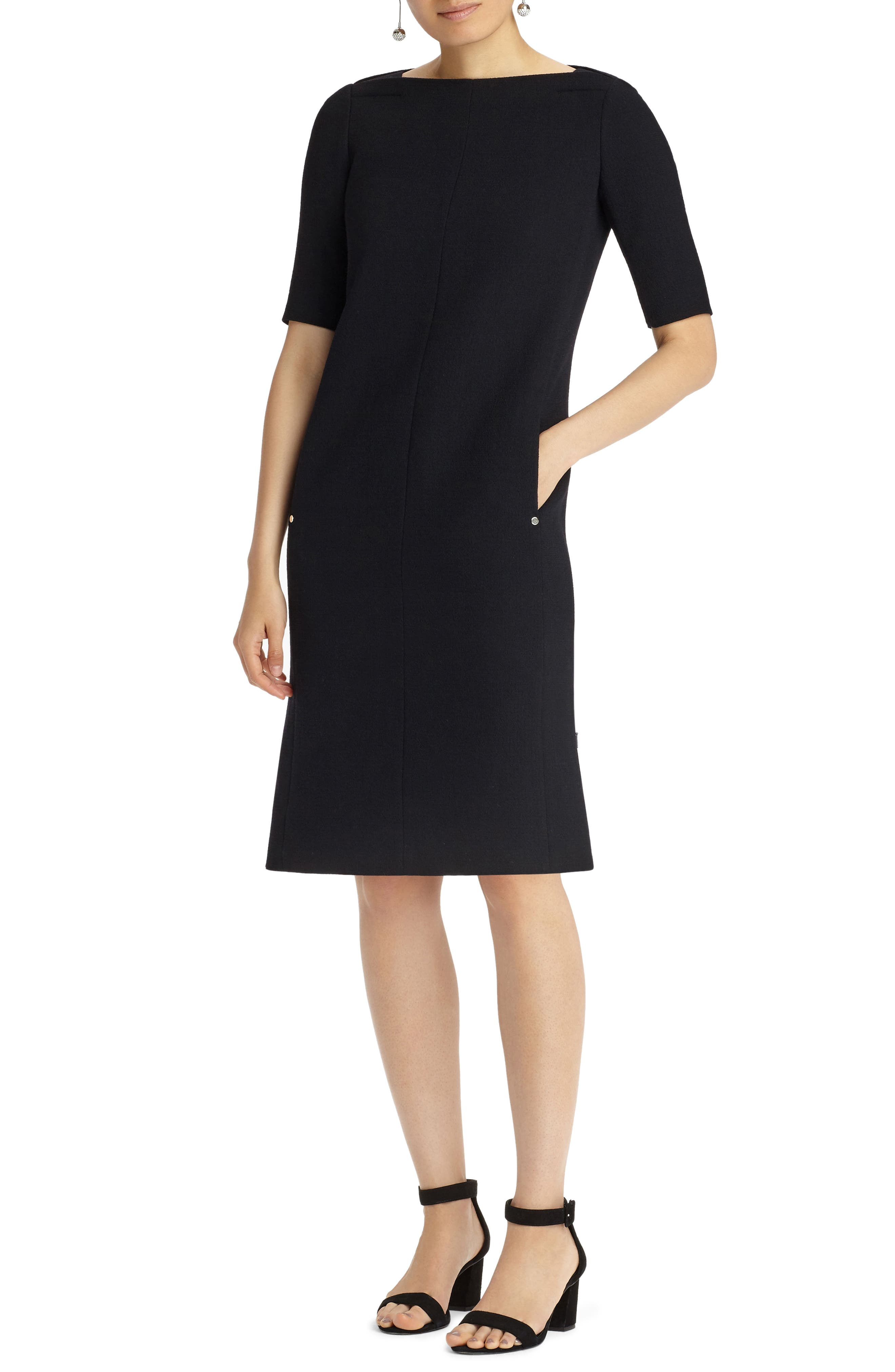 Main Image - Lafayette 148 New York Cyra Shift Dress (Nordstrom Exclusive)