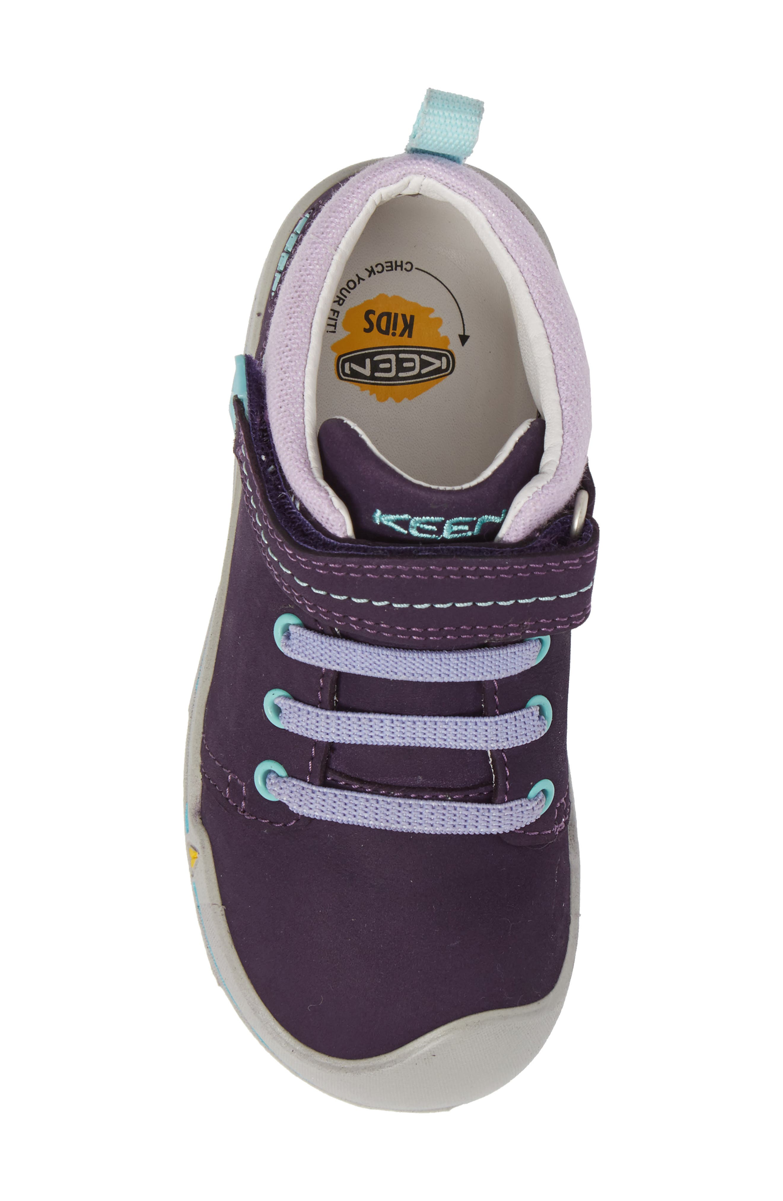 Sprout Mid Sneaker,                             Alternate thumbnail 5, color,                             Purple / Sweet Lavender