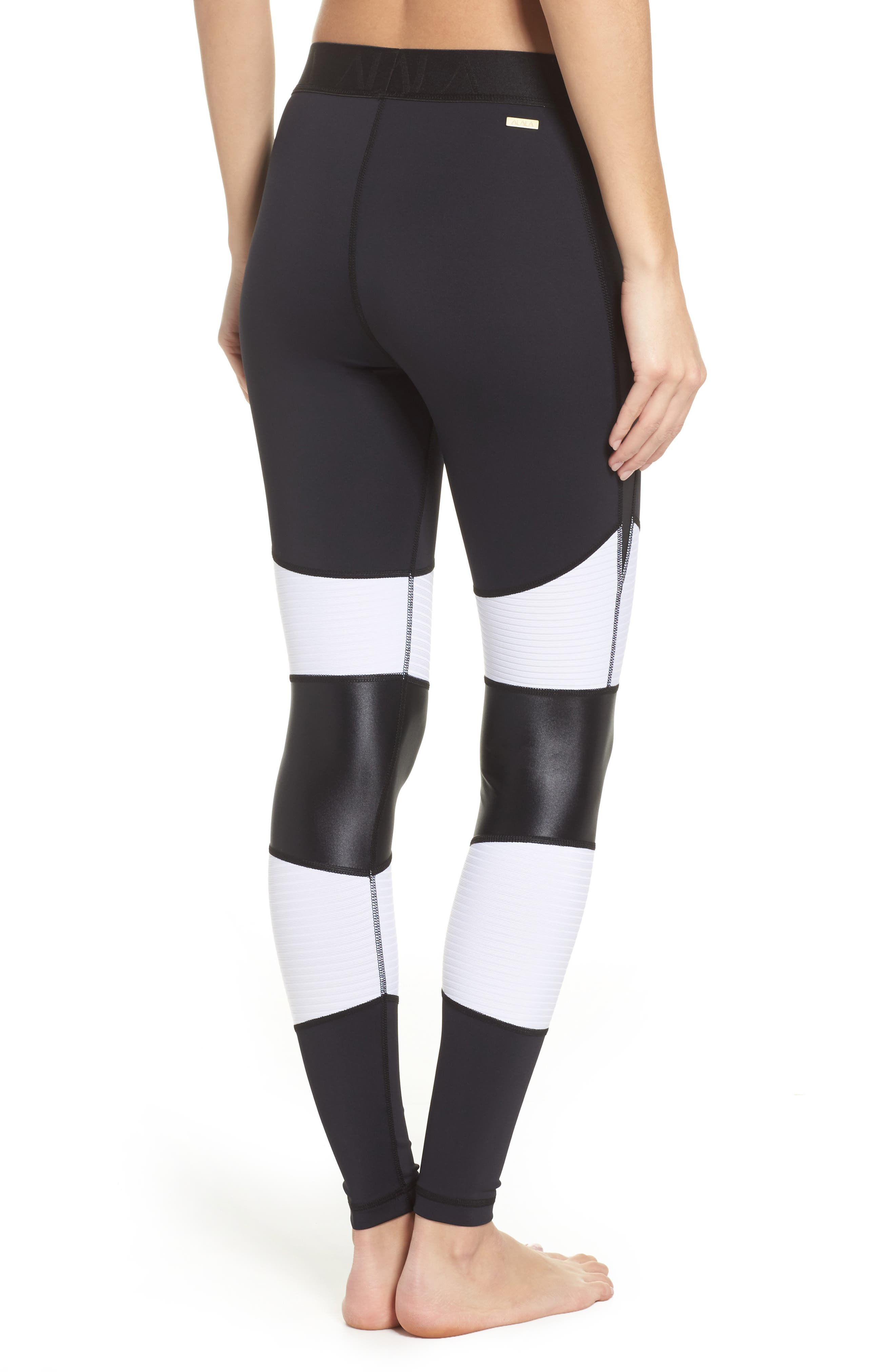 Harley Tights,                             Alternate thumbnail 2, color,                             White