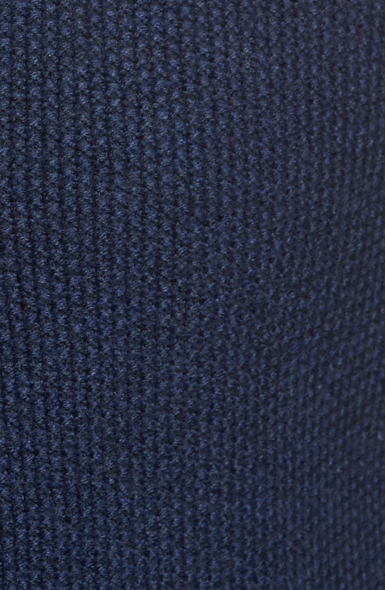 Haydon Merino Wool Sweater Jacket,                             Alternate thumbnail 5, color,                             Navy