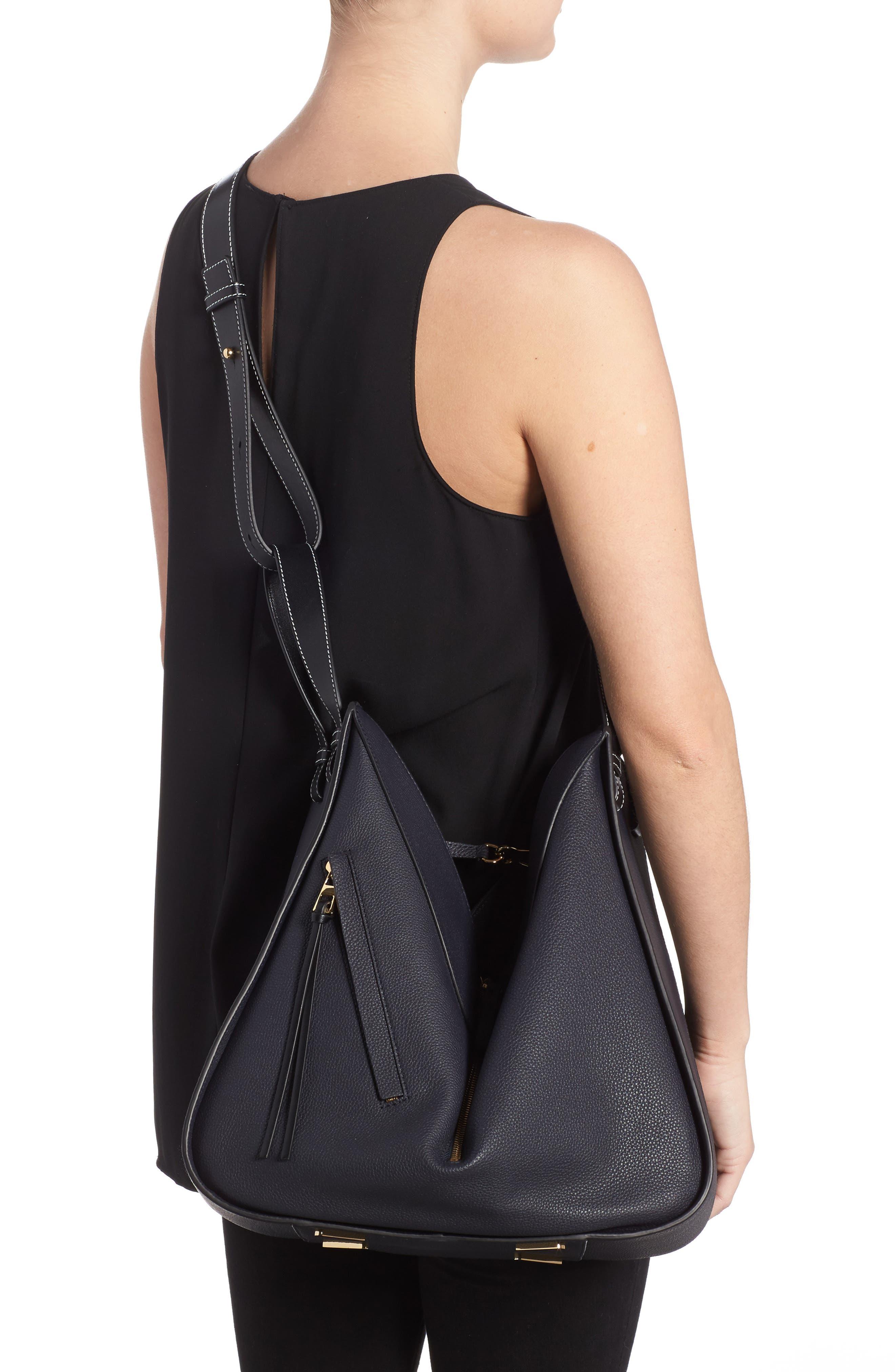 Alternate Image 2  - Loewe Medium Hammock Calfskin Leather Shoulder Bag