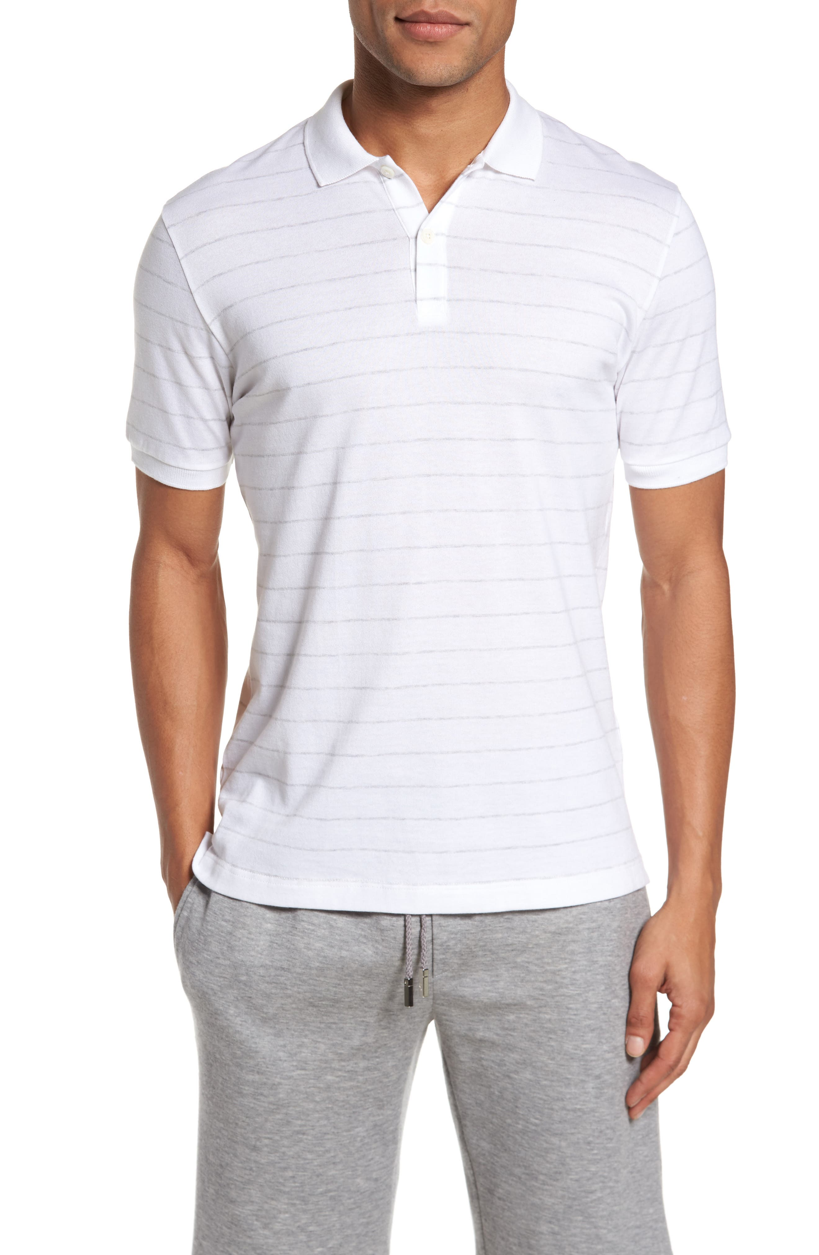 Main Image - Eleventy Stripe Polo