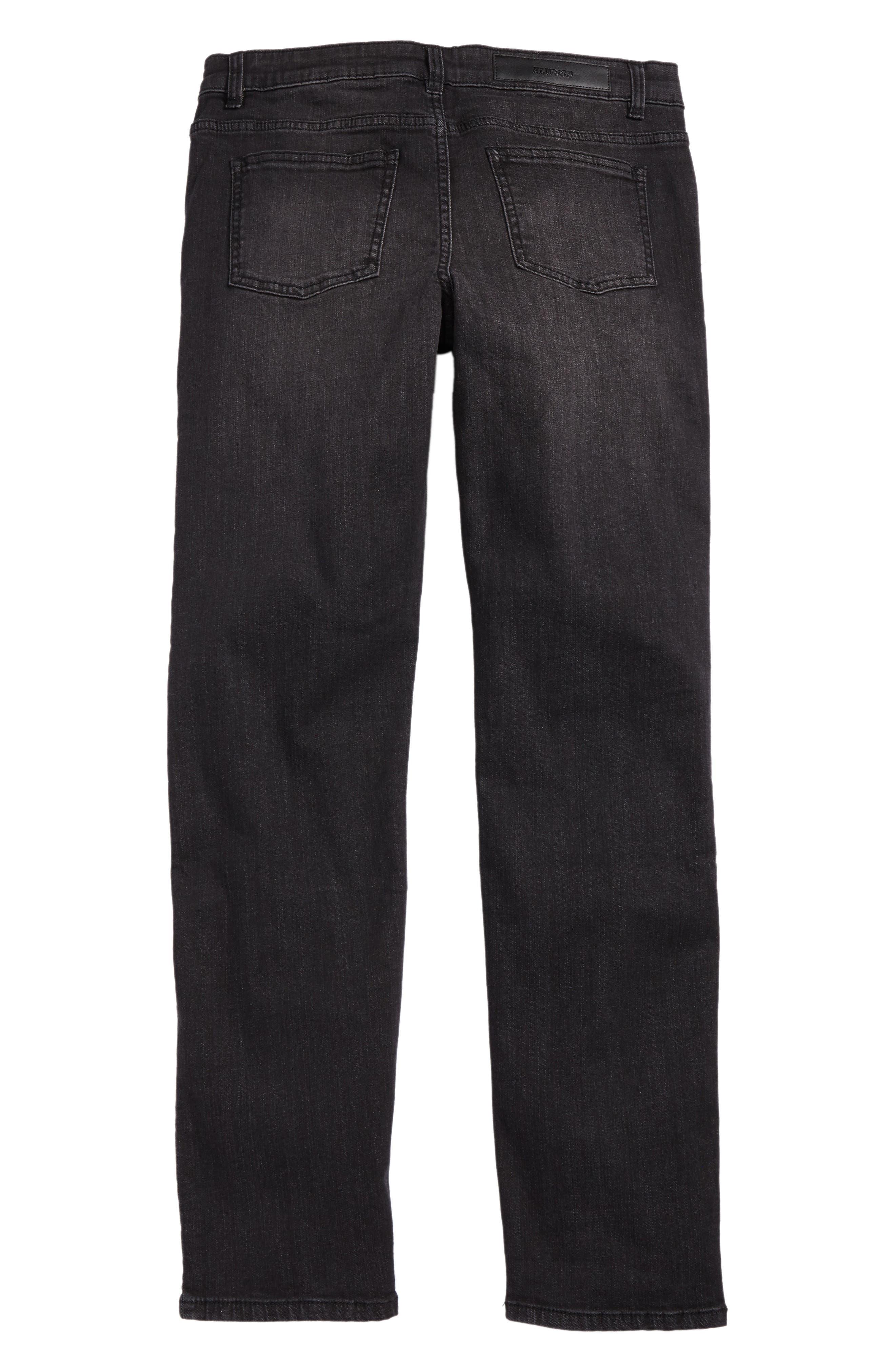 Alternate Image 2  - Elwood Straight Leg Moto Jeans (Big Boys)