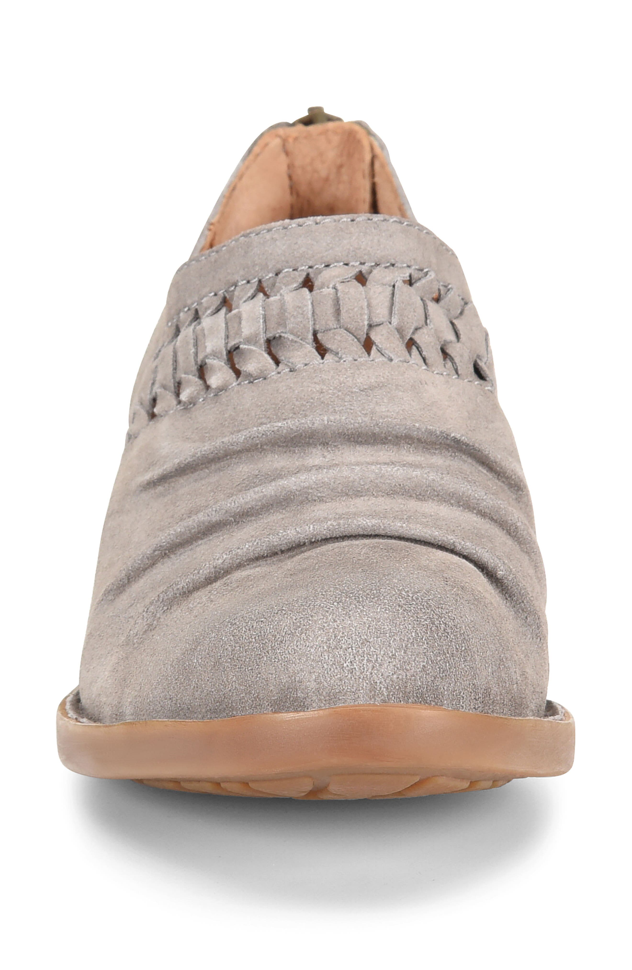 Born Katharina Bootie,                             Alternate thumbnail 4, color,                             Grey Suede