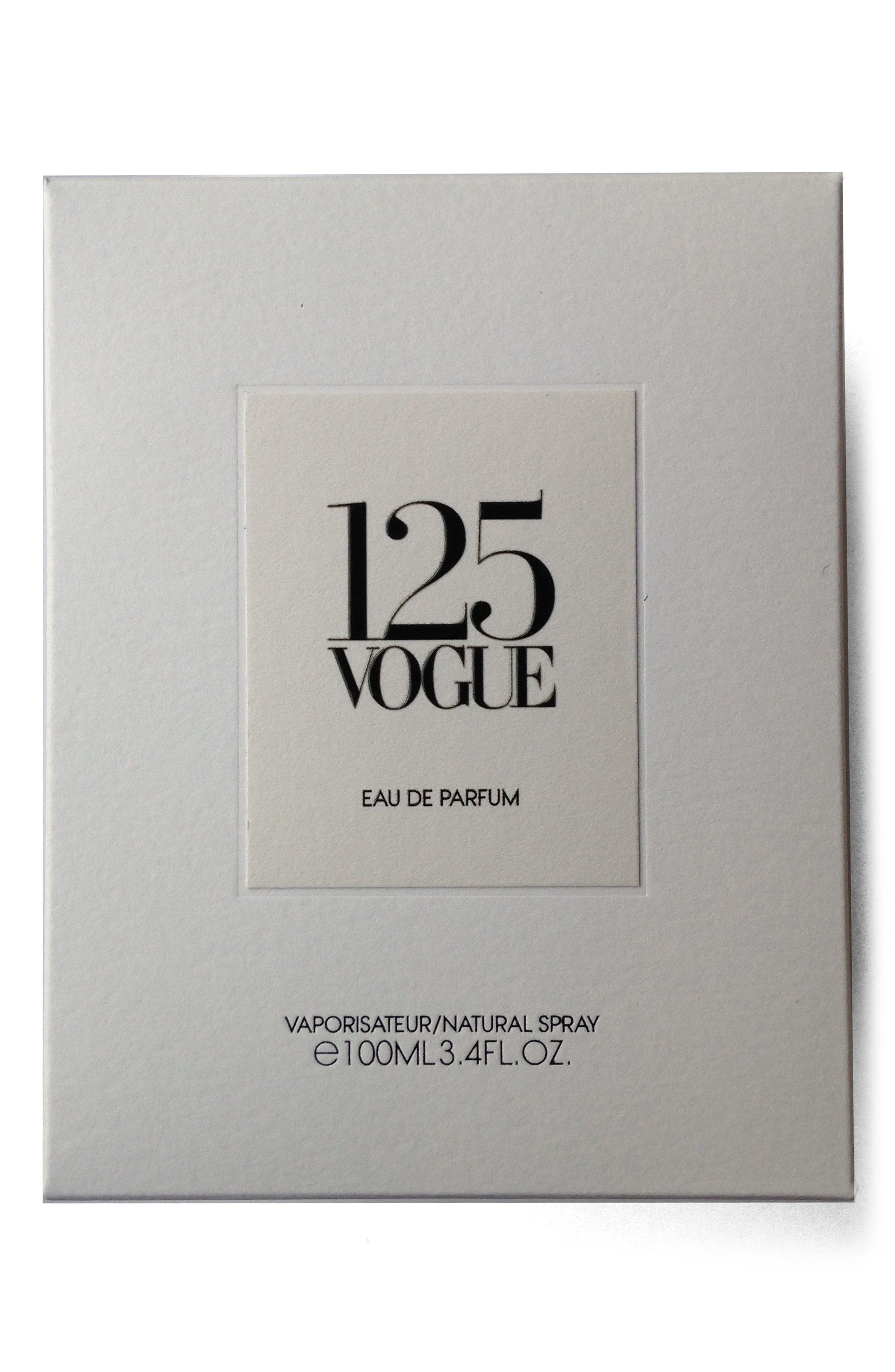 125 Vogue Eau de Parfum,                             Alternate thumbnail 2, color,                             Red