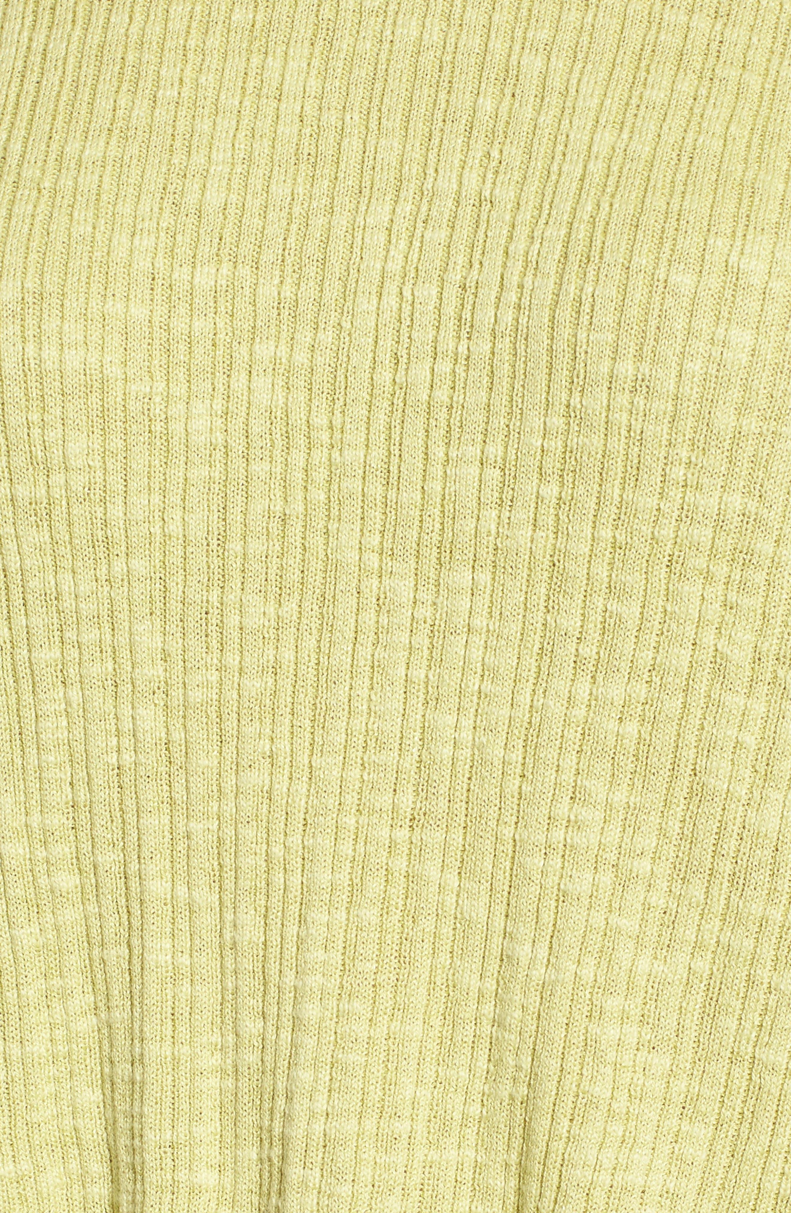 Alternate Image 5  - Eileen Fisher Organic Linen & Cotton Crewneck Sweater (Regular & Petite)