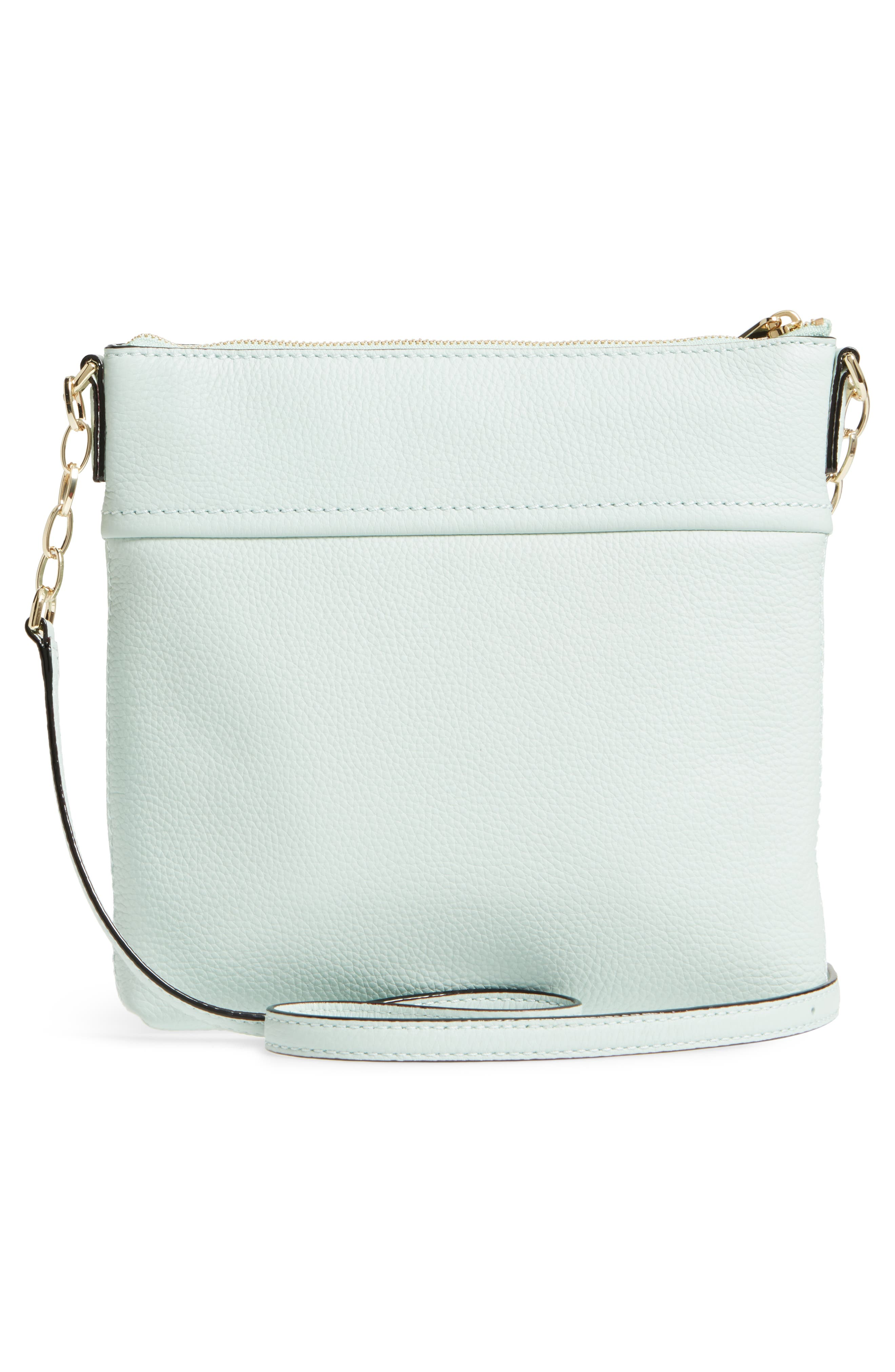 jackson street - melisse crossbody bag,                             Alternate thumbnail 3, color,                             Misty Mint