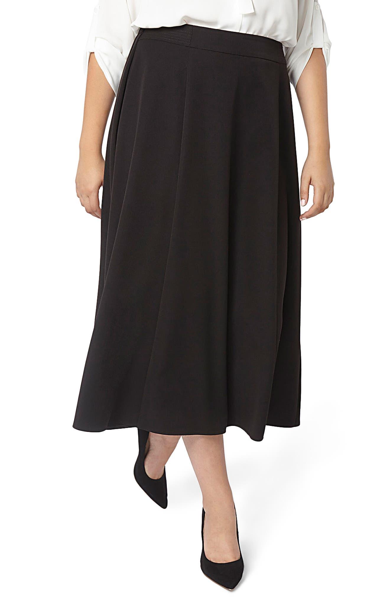 Main Image - Evans Picasso 36 Skirt (Plus Size)