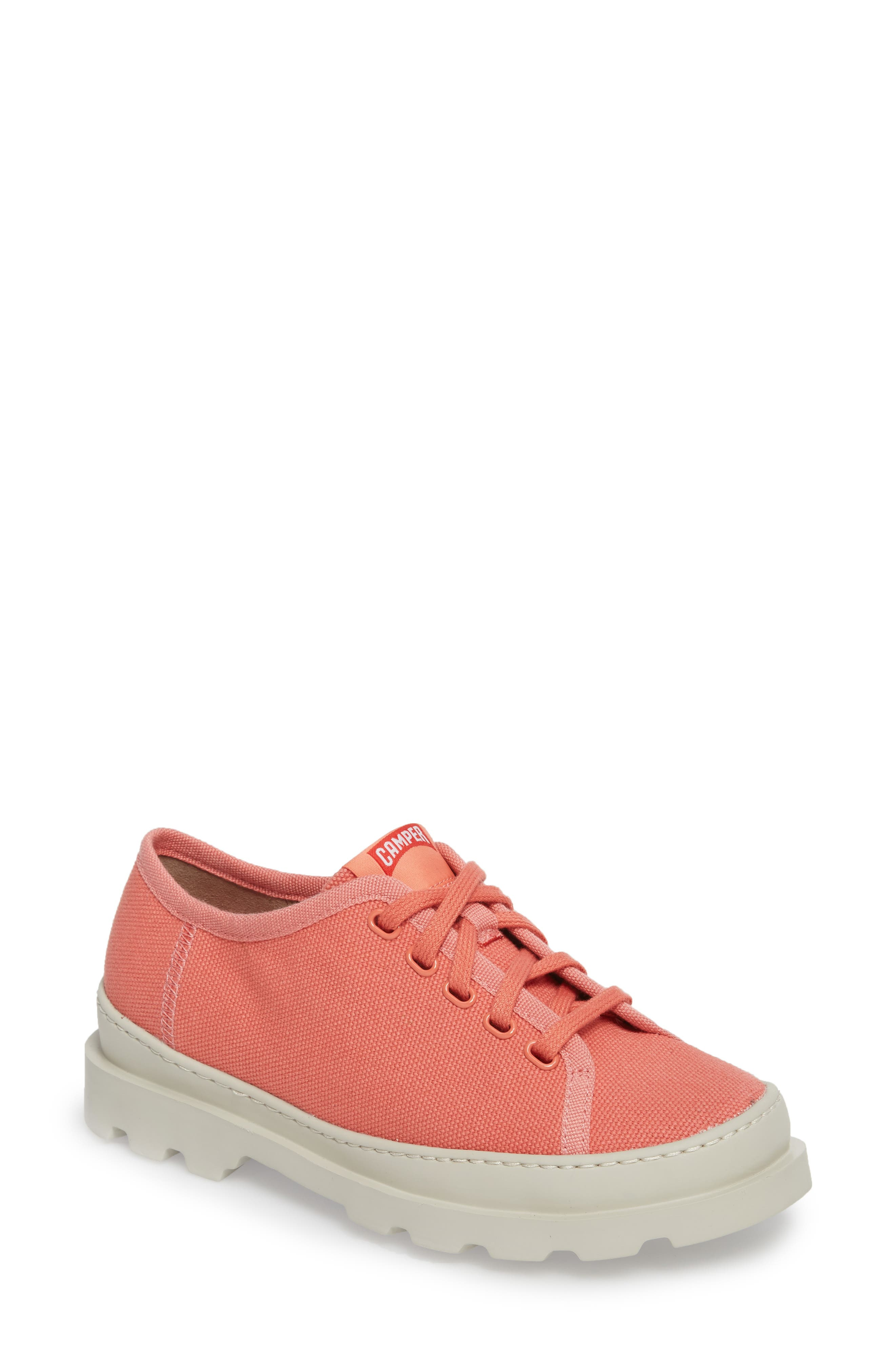 Brutus Lugged Platform Sneaker,                             Main thumbnail 1, color,                             Pink