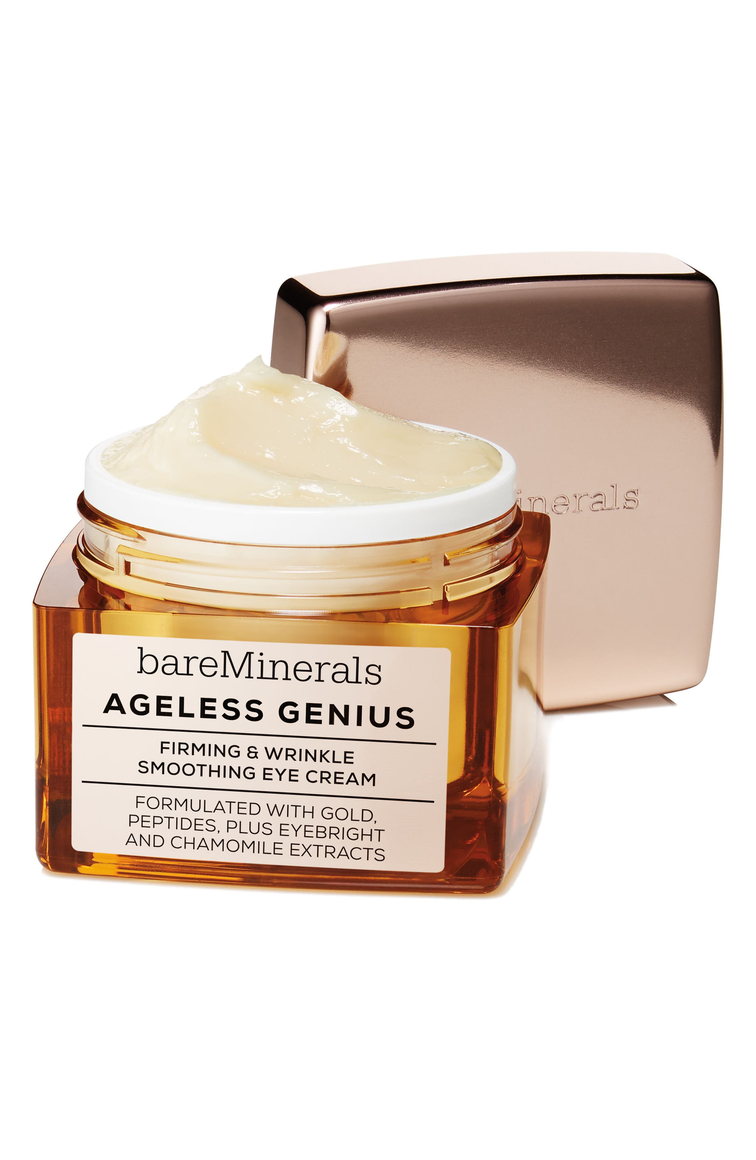 Ageless Genius Firming & Wrinkle Smoothing Eye Cream,                             Alternate thumbnail 3, color,                             No Color