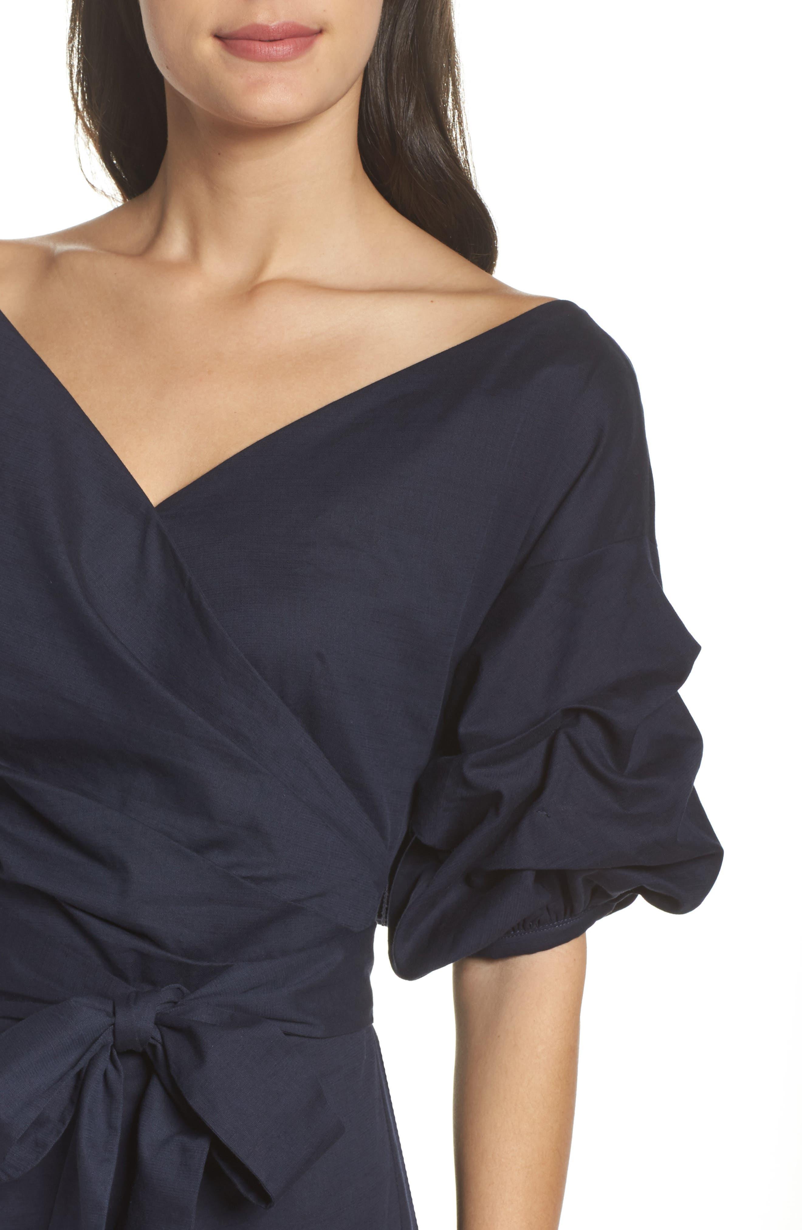 Alternate Image 6  - Chelsea28 Billow Sleeve Dress