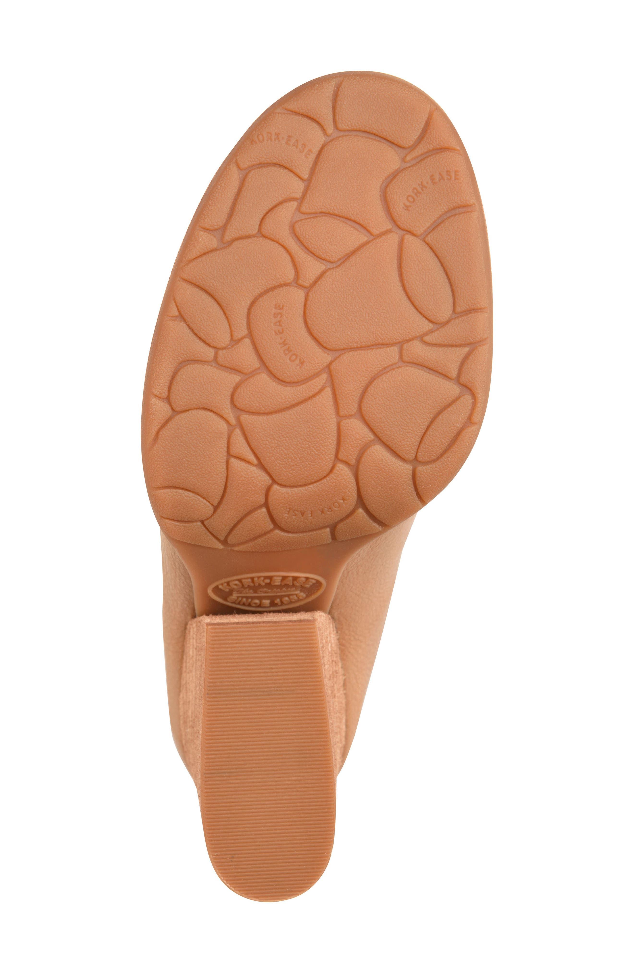 Kork-Ease Challise Clog,                             Alternate thumbnail 6, color,                             Tan Leather