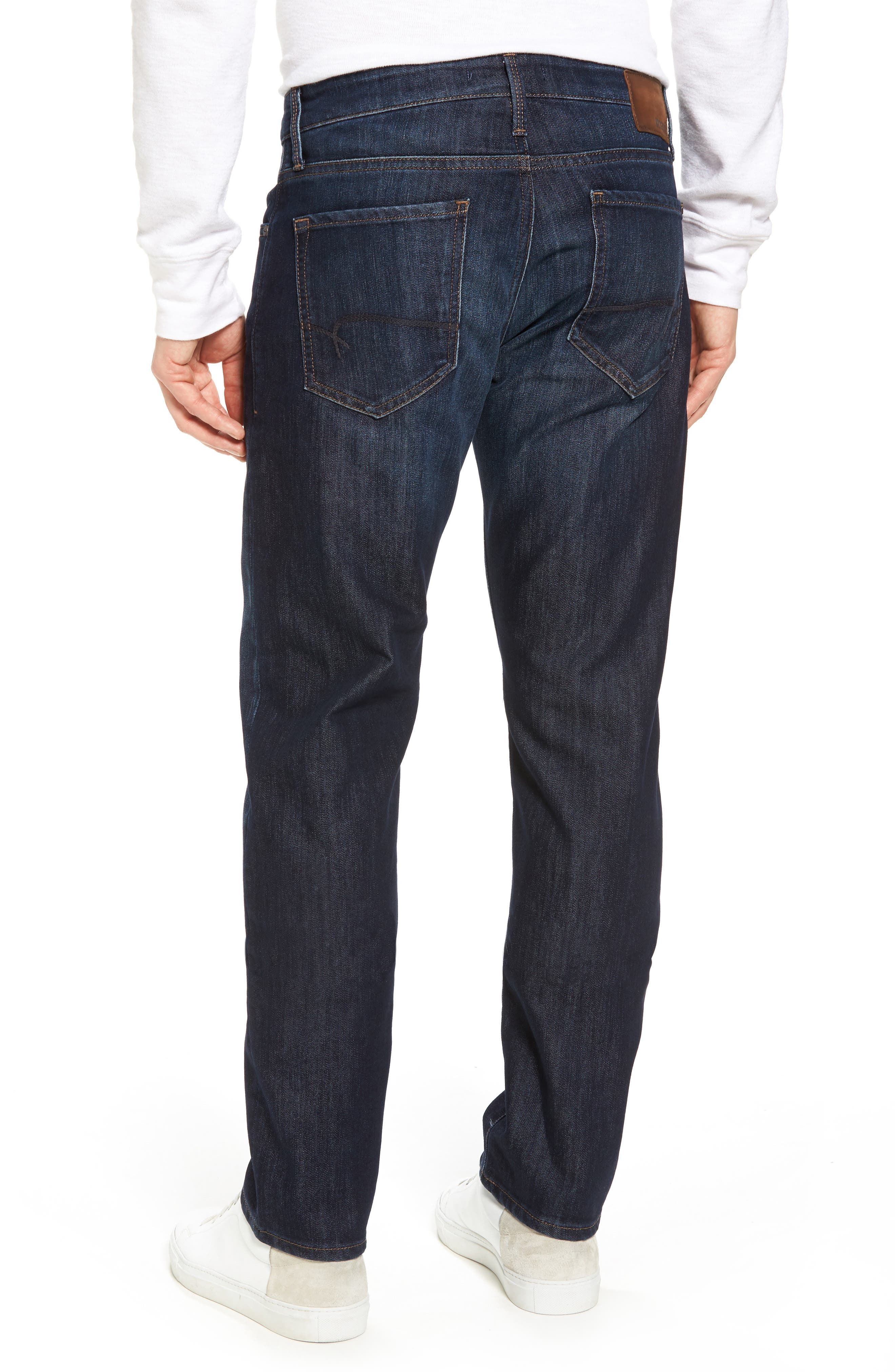 Zach Straight Leg Jeans,                             Alternate thumbnail 2, color,                             Rinse Stanford
