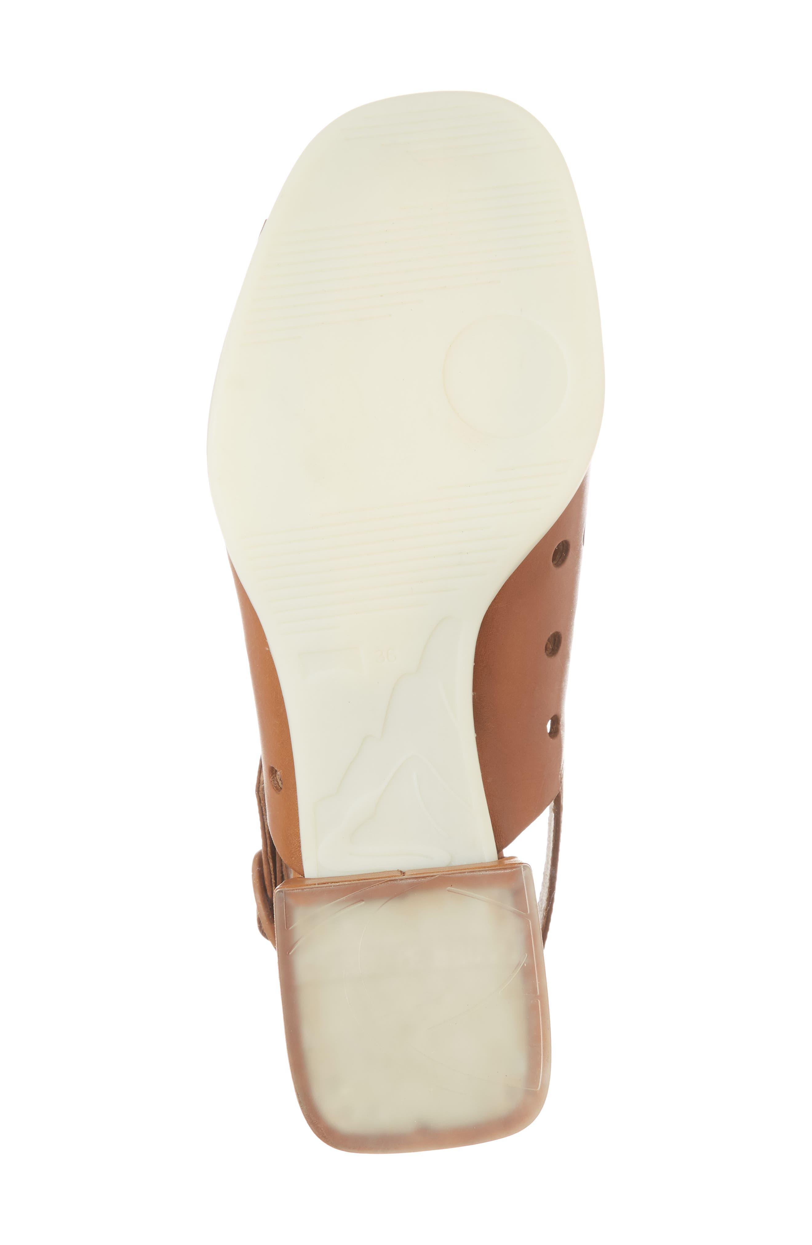 Twins Sandal,                             Alternate thumbnail 6, color,                             Rust/ Copper Leather