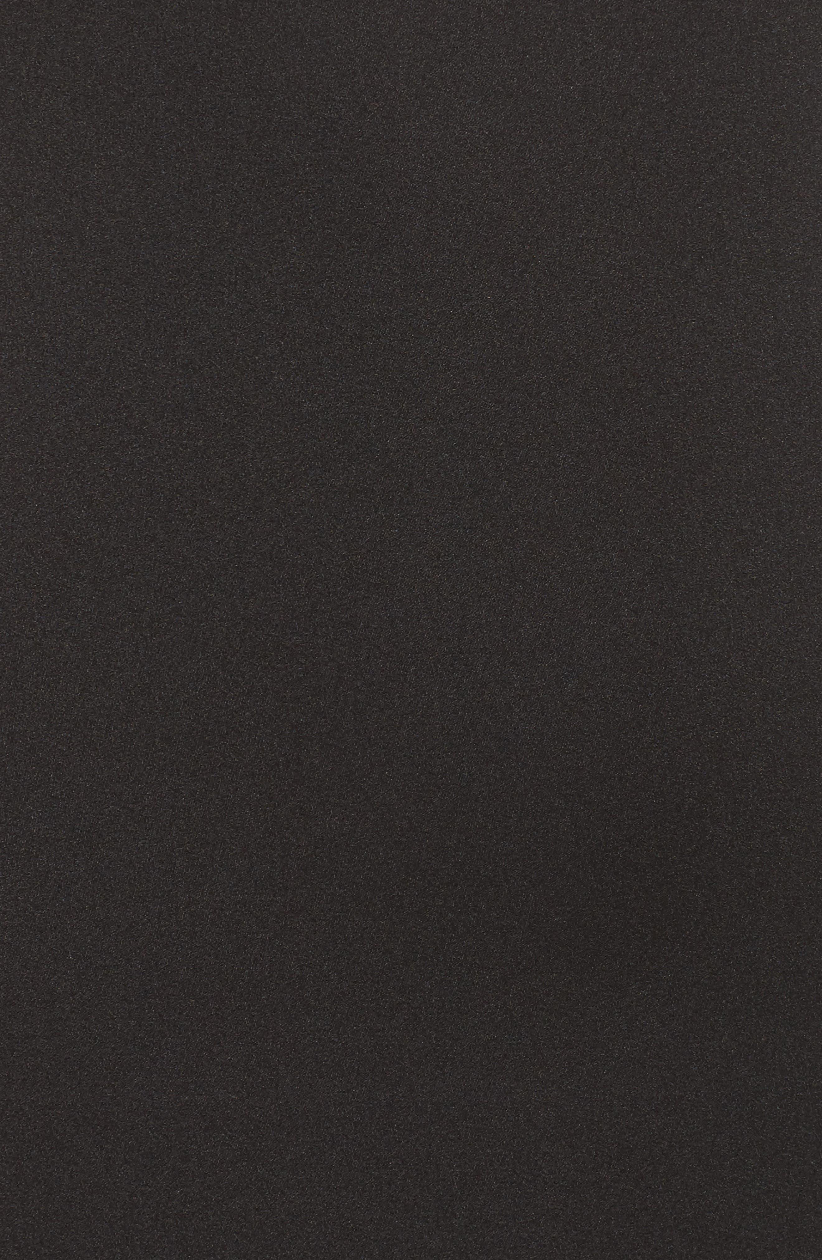 Embellished Trim Sheath Dress,                             Alternate thumbnail 5, color,                             Black