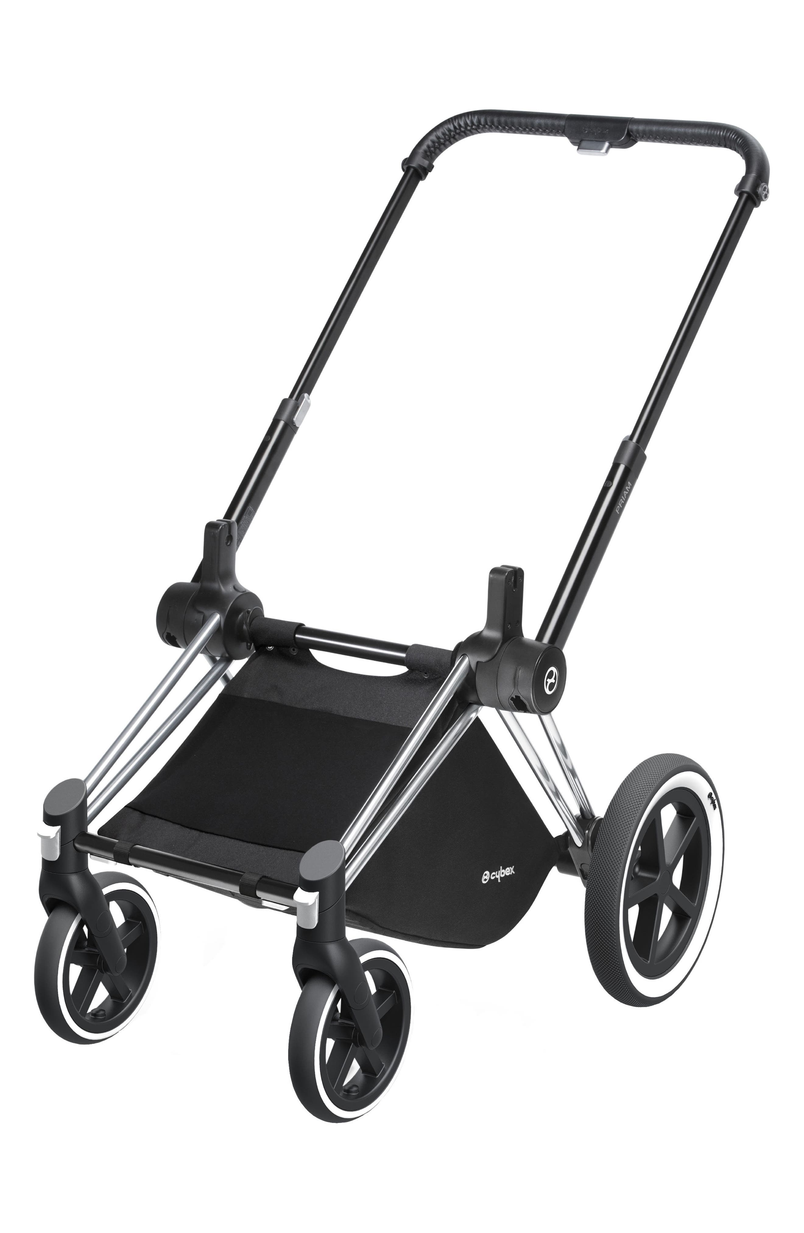 Priam Stroller Frame with All Terrain Wheels,                         Main,                         color, All Terrain