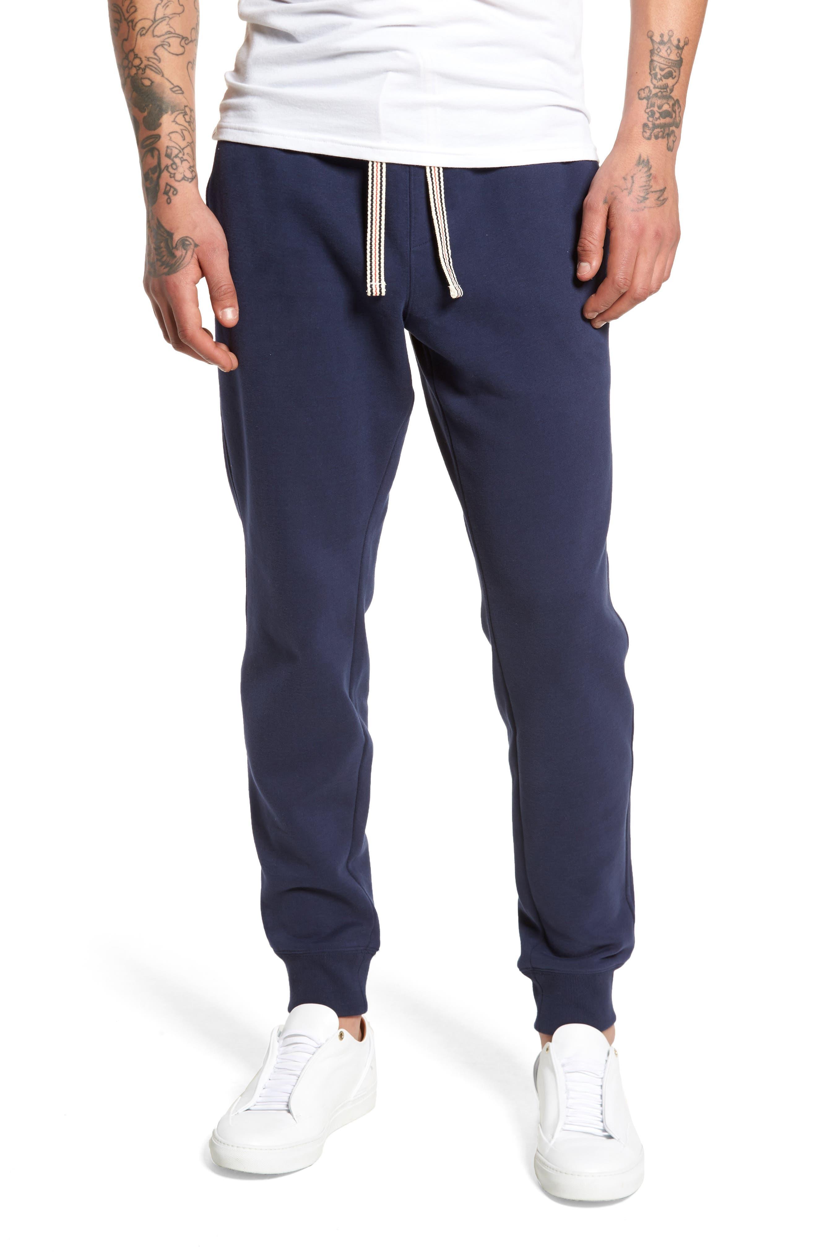 Jogger Pants,                         Main,                         color, Peacoat