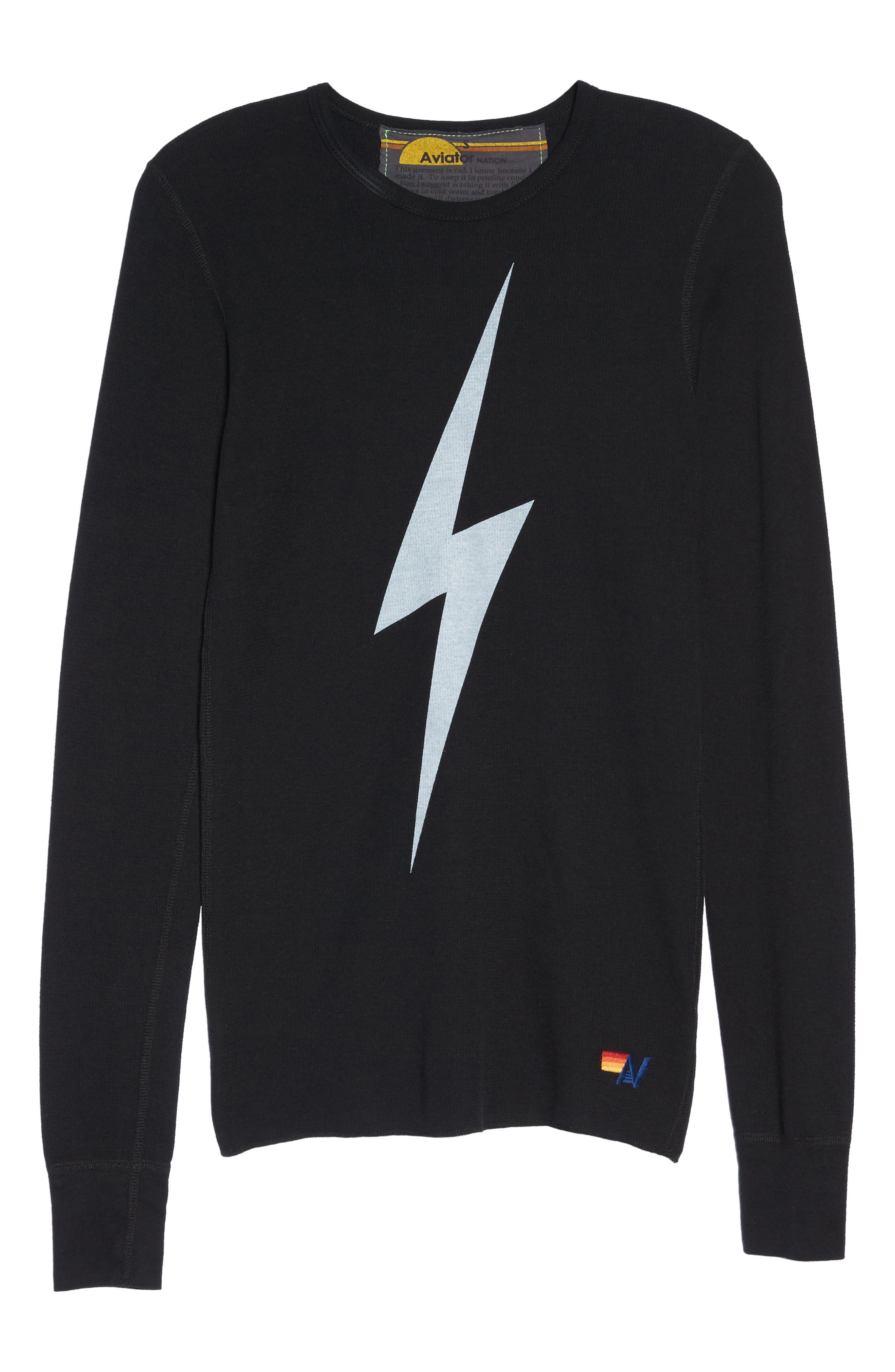 Alternate Image 1 Selected - Aviator Nation Bolt Thermal Top