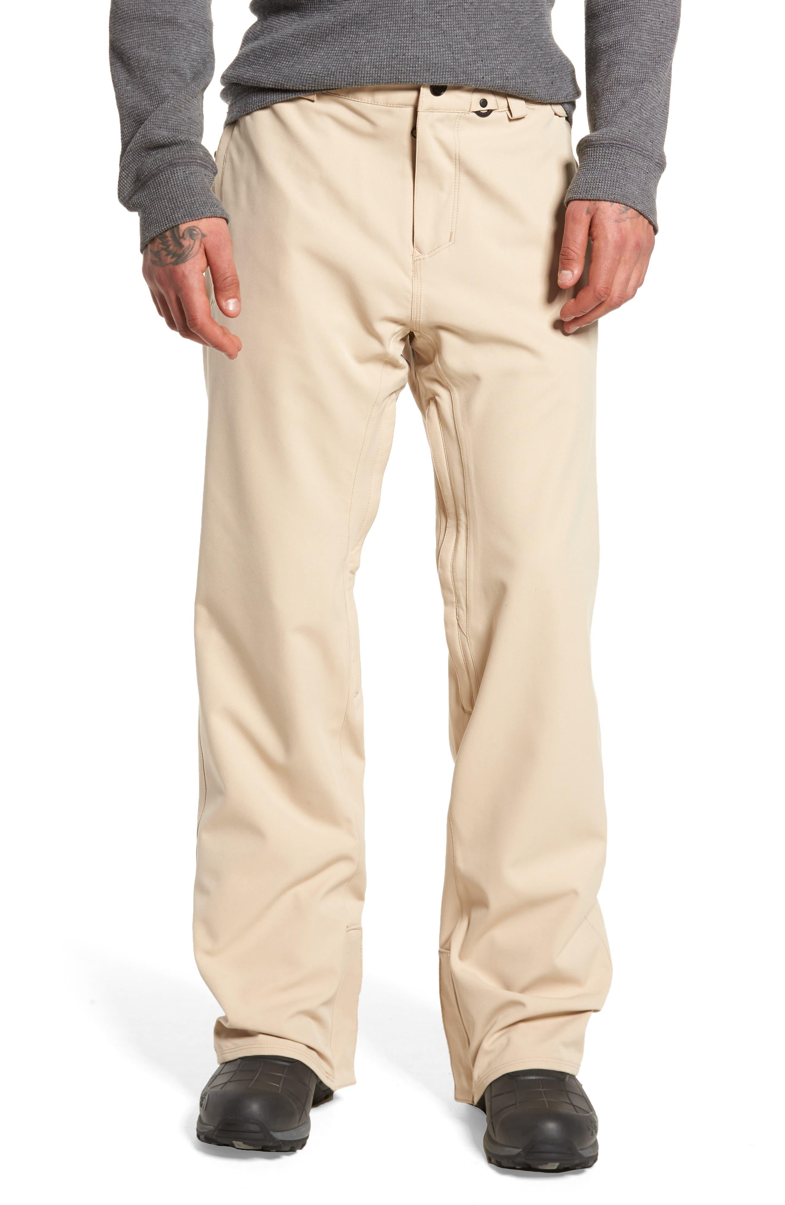 Weatherproof Snow Chino Pants,                         Main,                         color, Khaki