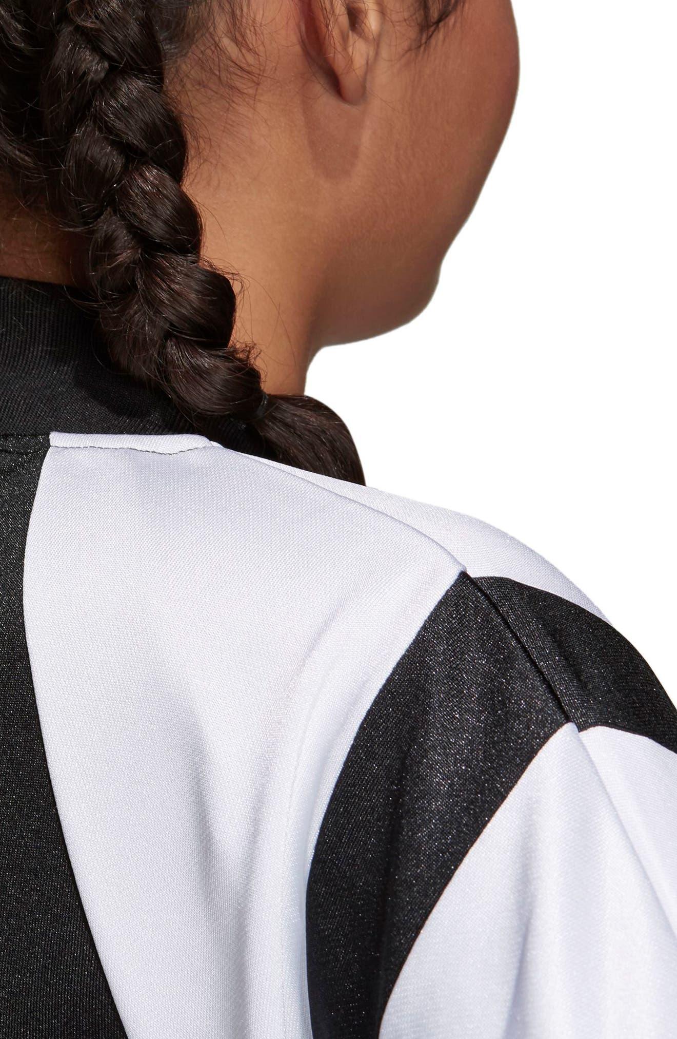 Originals Superstar Track Jacket,                             Alternate thumbnail 4, color,                             Black/ White