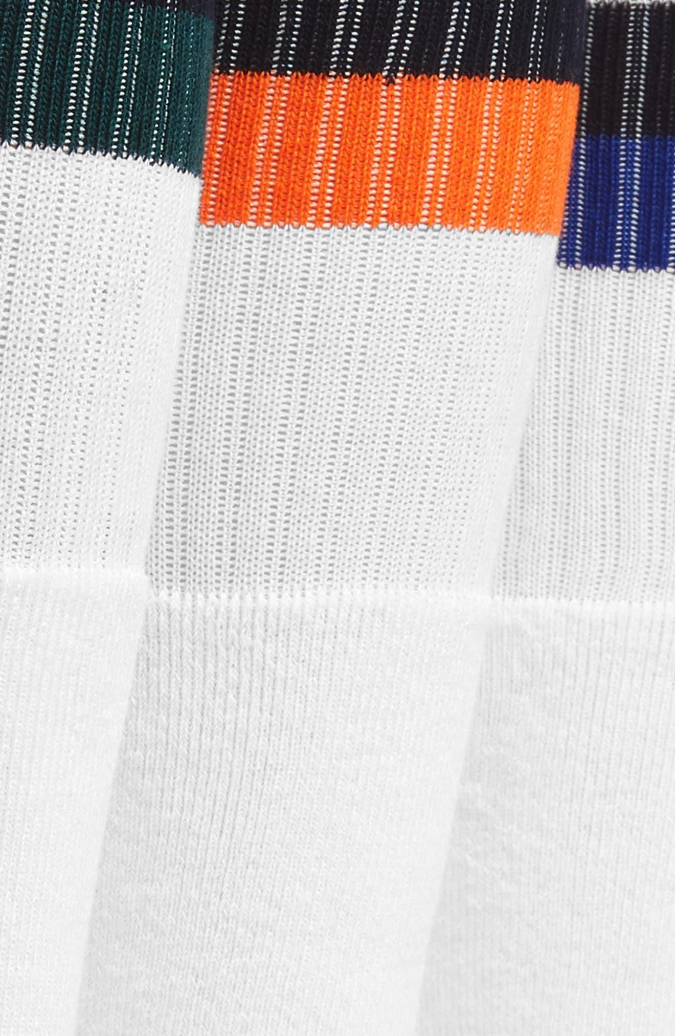 3-Pack Tube Socks,                             Alternate thumbnail 2, color,                             White/ Royal