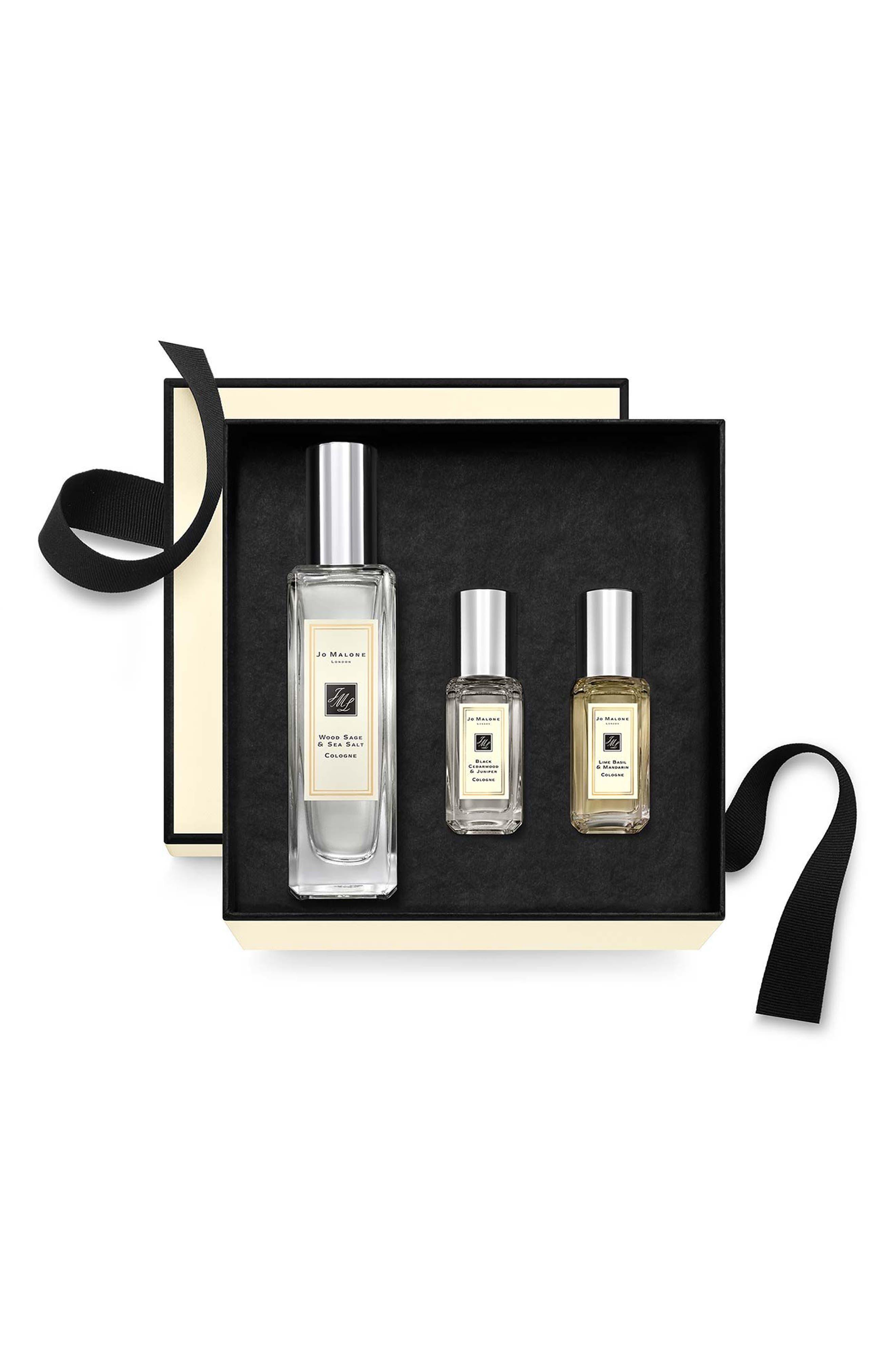 Main Image - Jo Malone London™ Wood Sage & Sea Salt Fragrance Combining™ Trio